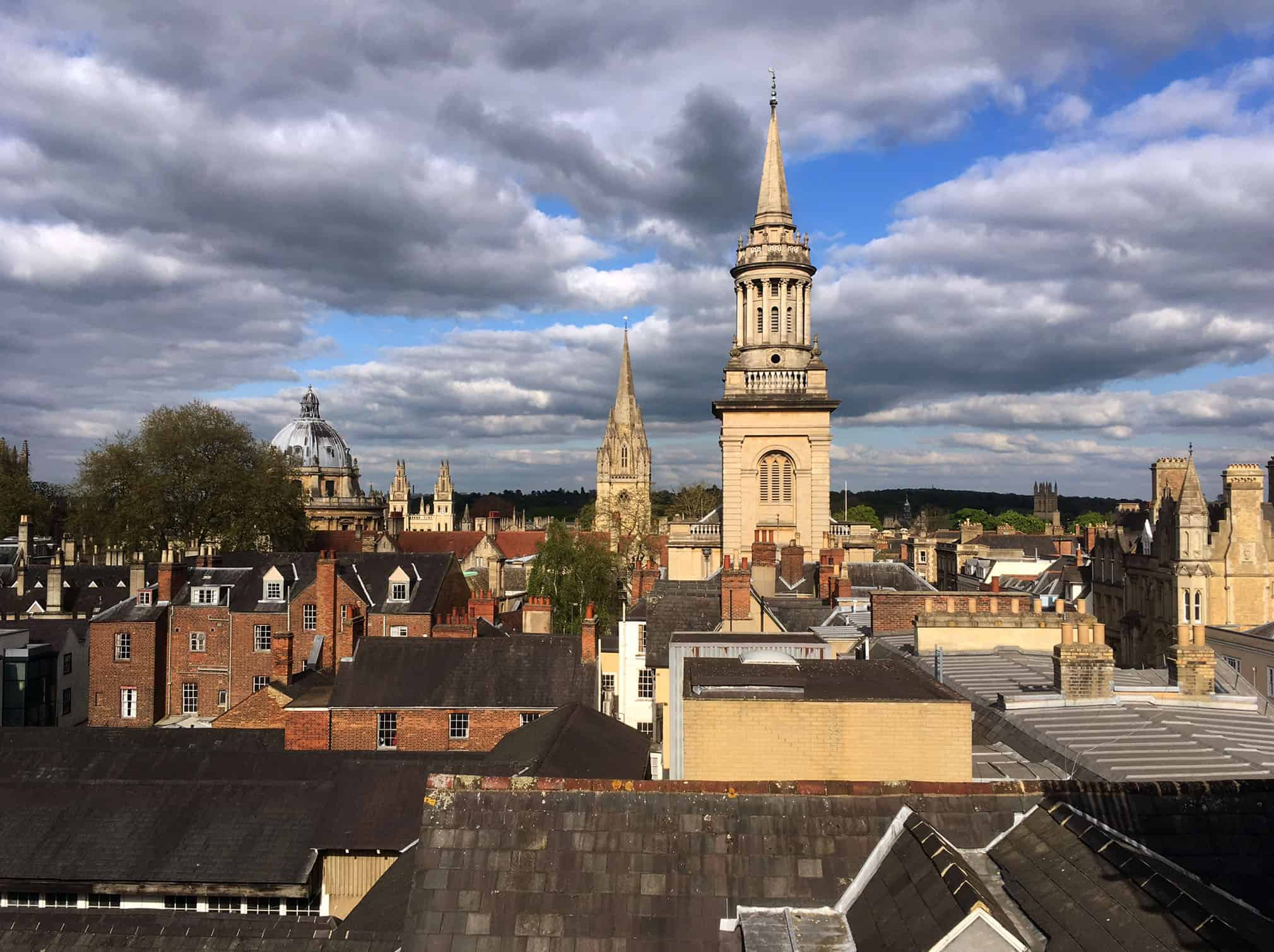 View From The Varsity Club, Oxford