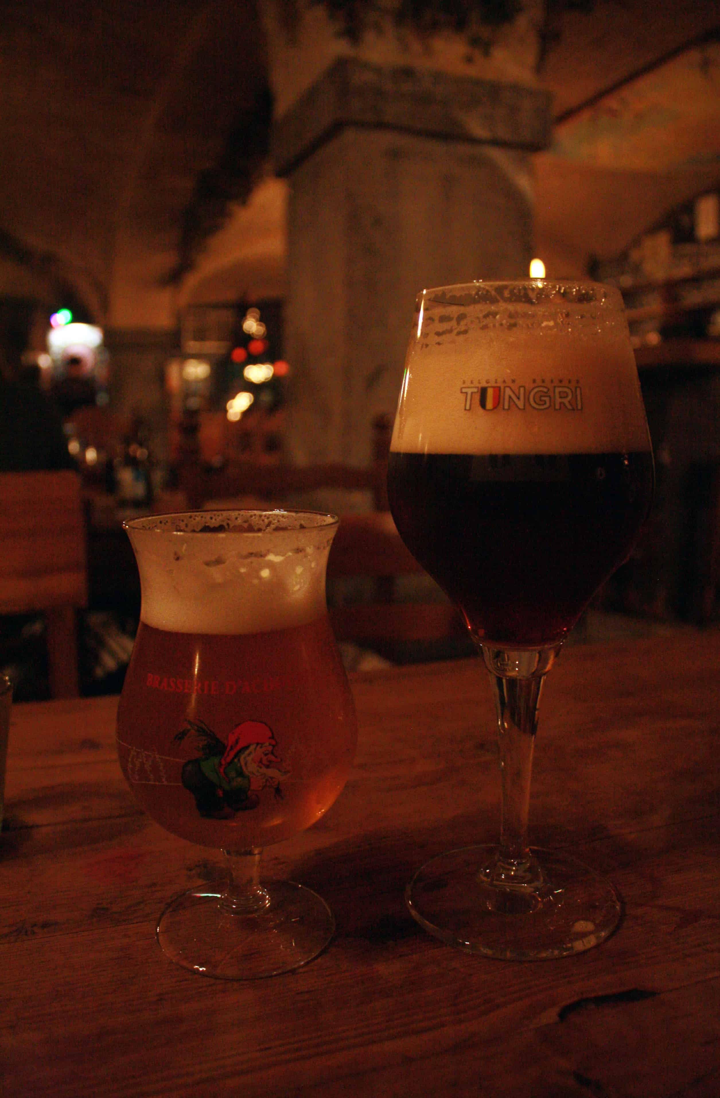 Belgian Beers at t' Poatersgat