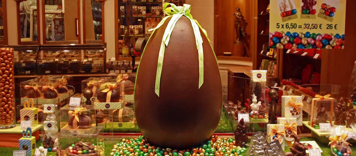 Chocolate Egg, Heuhaus, Brussels