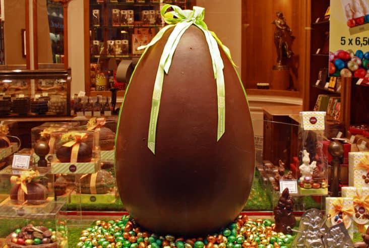 Chocolate Egg, Heuhaus, Brussels