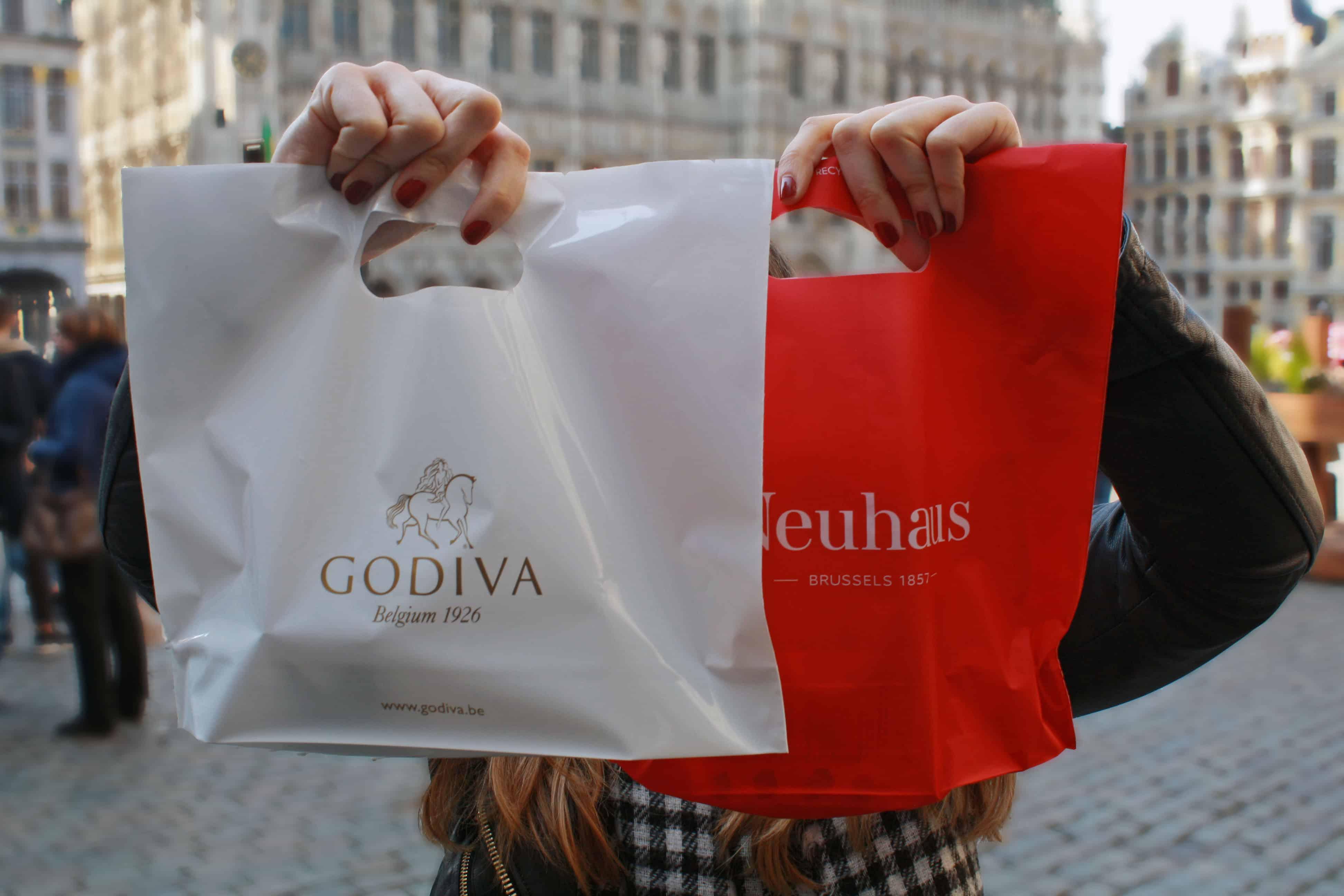 Godiva & Neuhaus Chocolates, Brussels