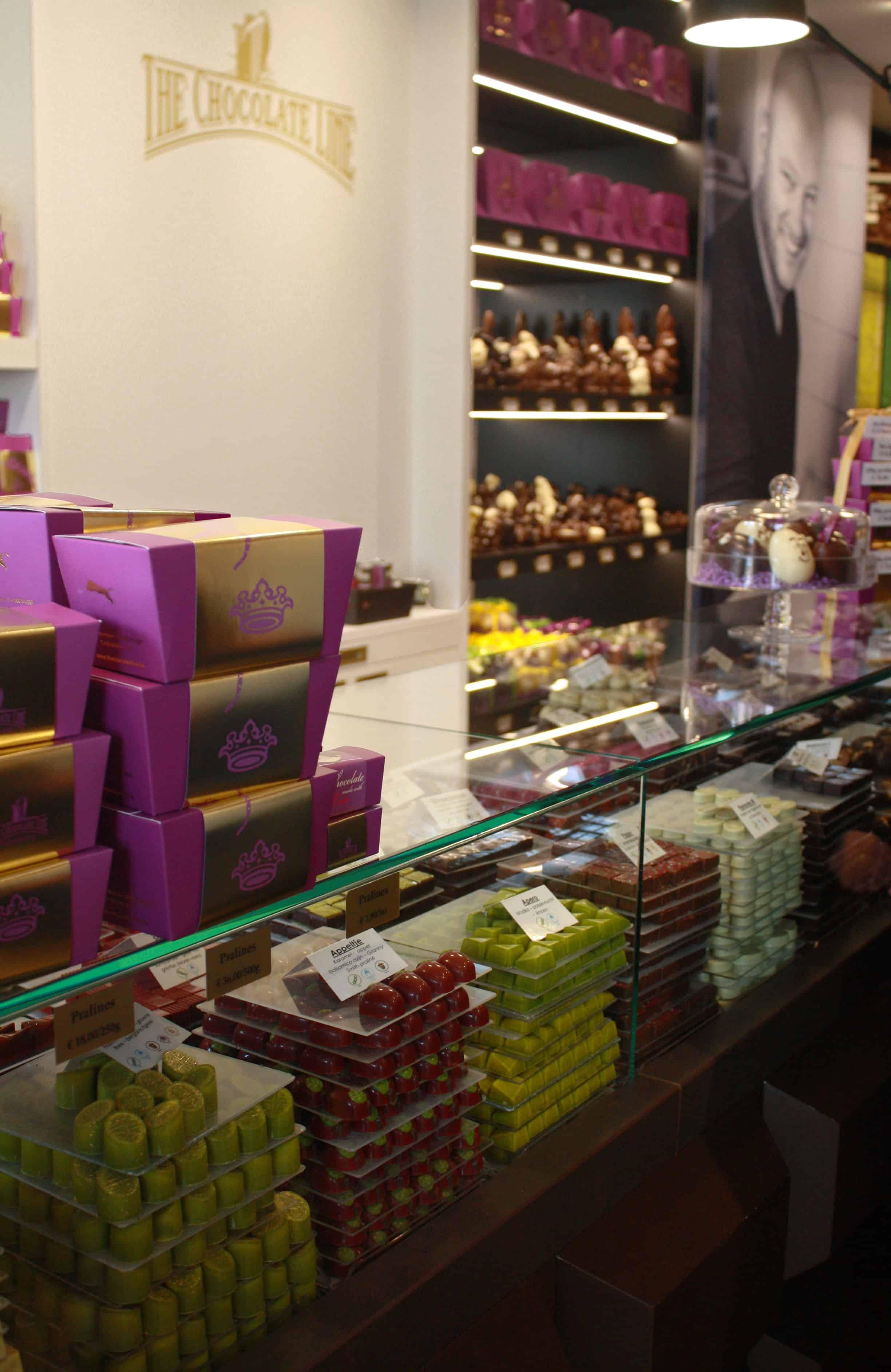 Inside The Chocolate Line, Bruges