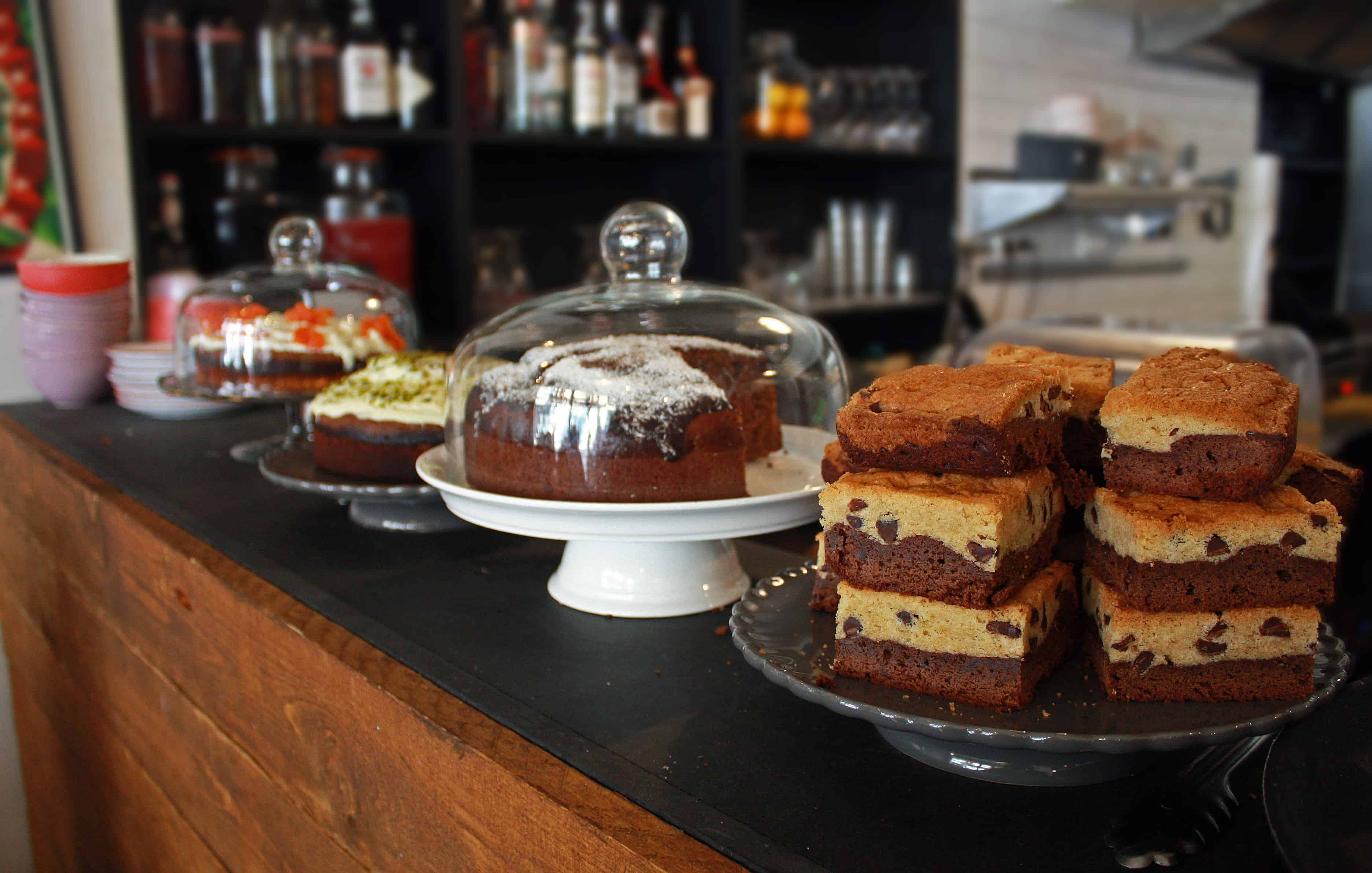 cakes at Peck 47, Brussels
