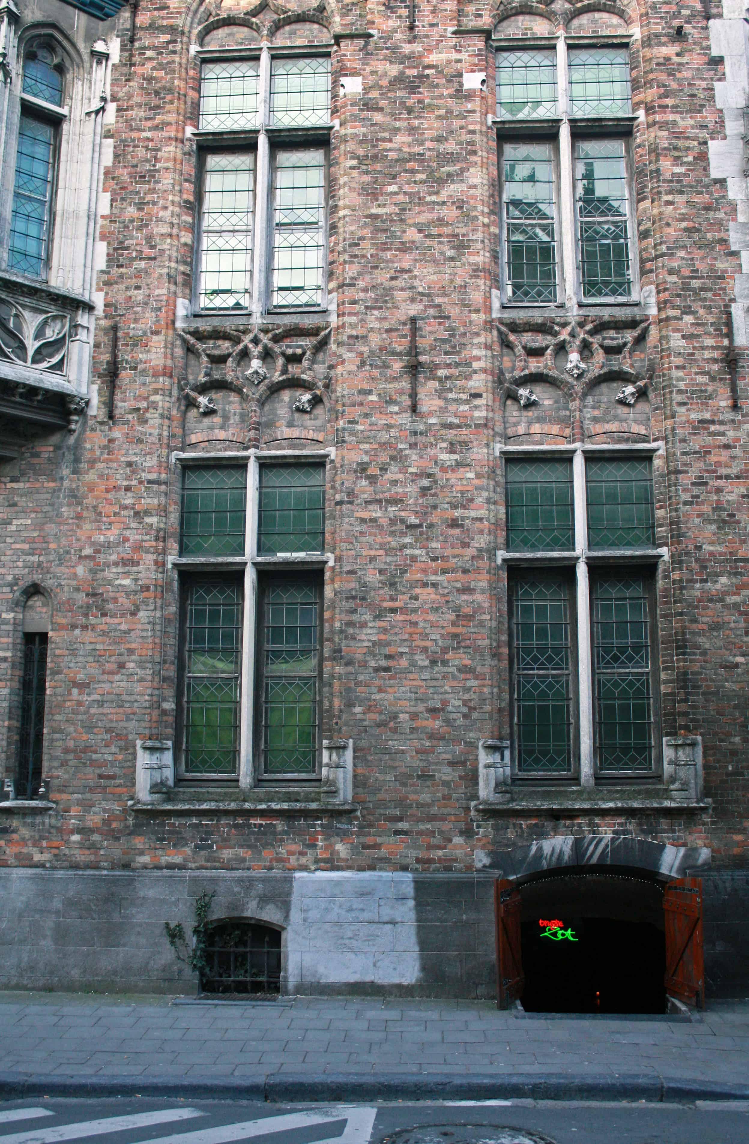 t'Poatersgat entrance, Bruges