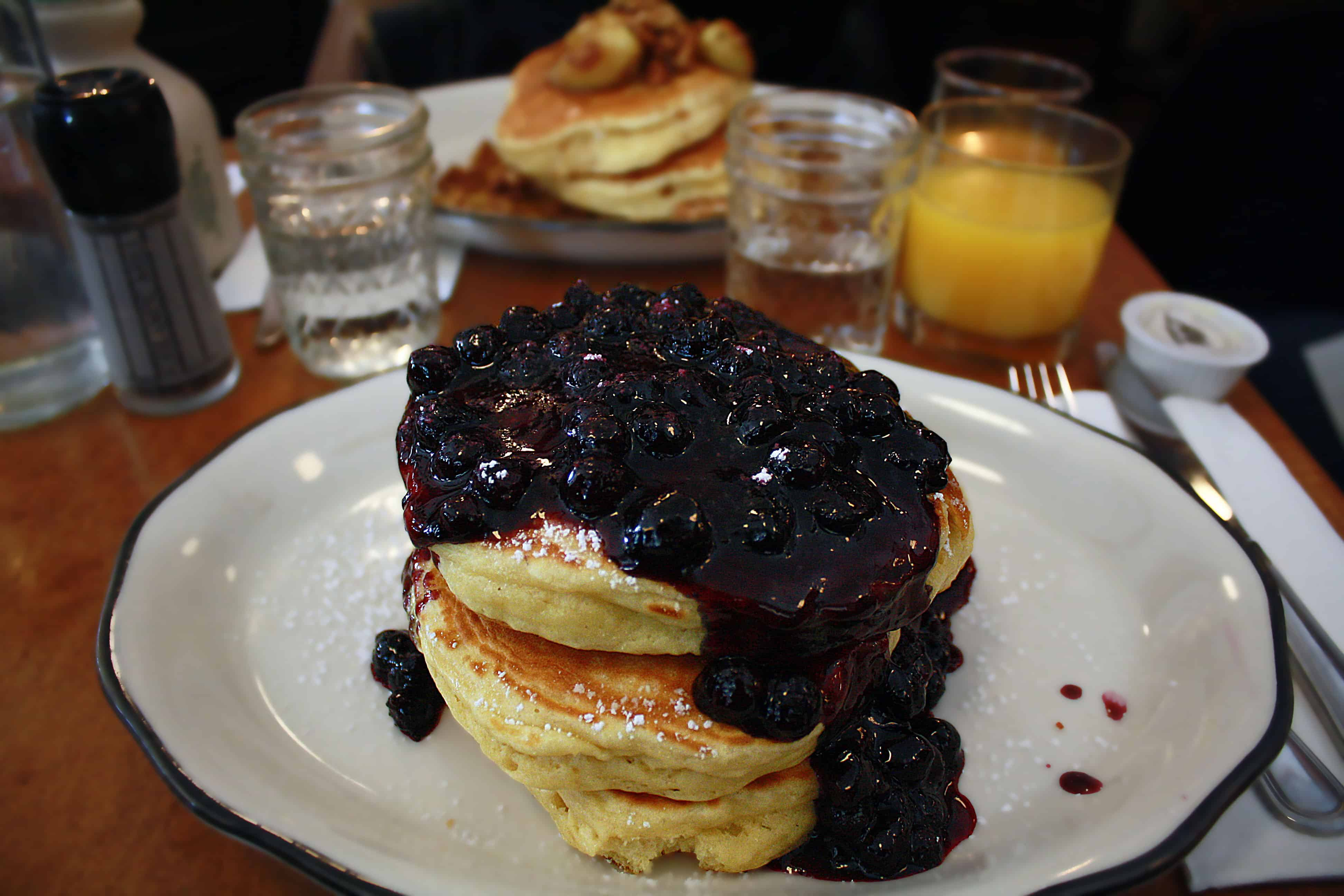 Bubby's pancakes, NYC
