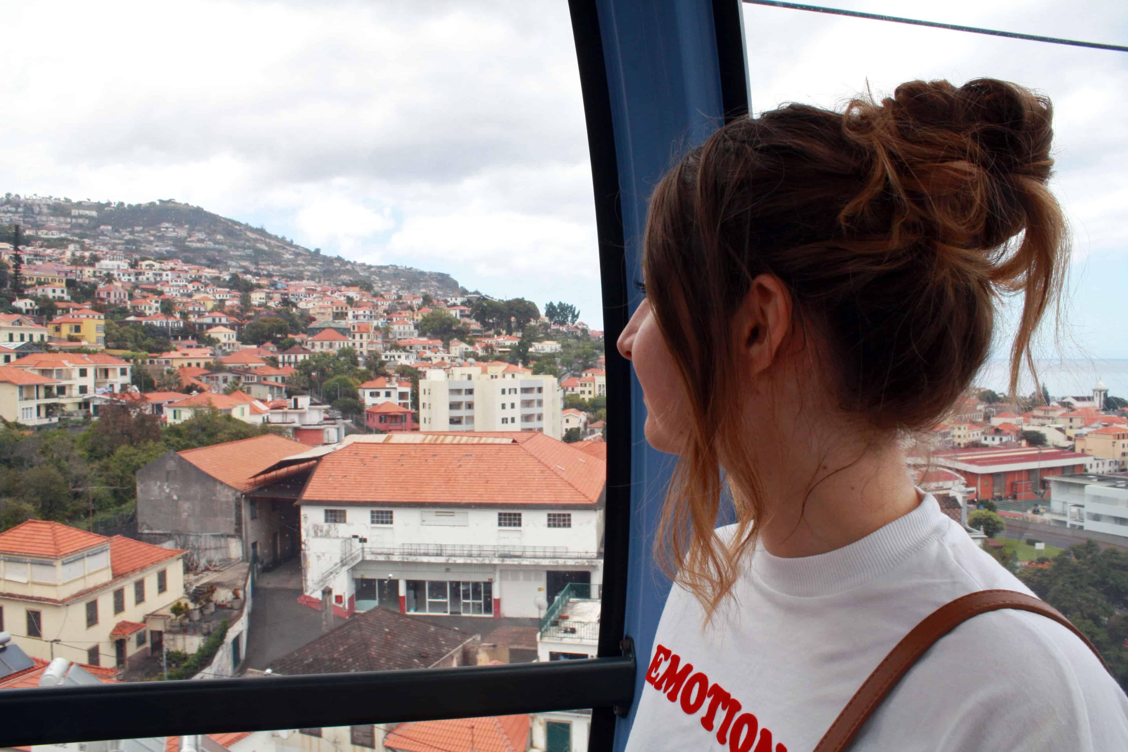 Cable Car, Madeira
