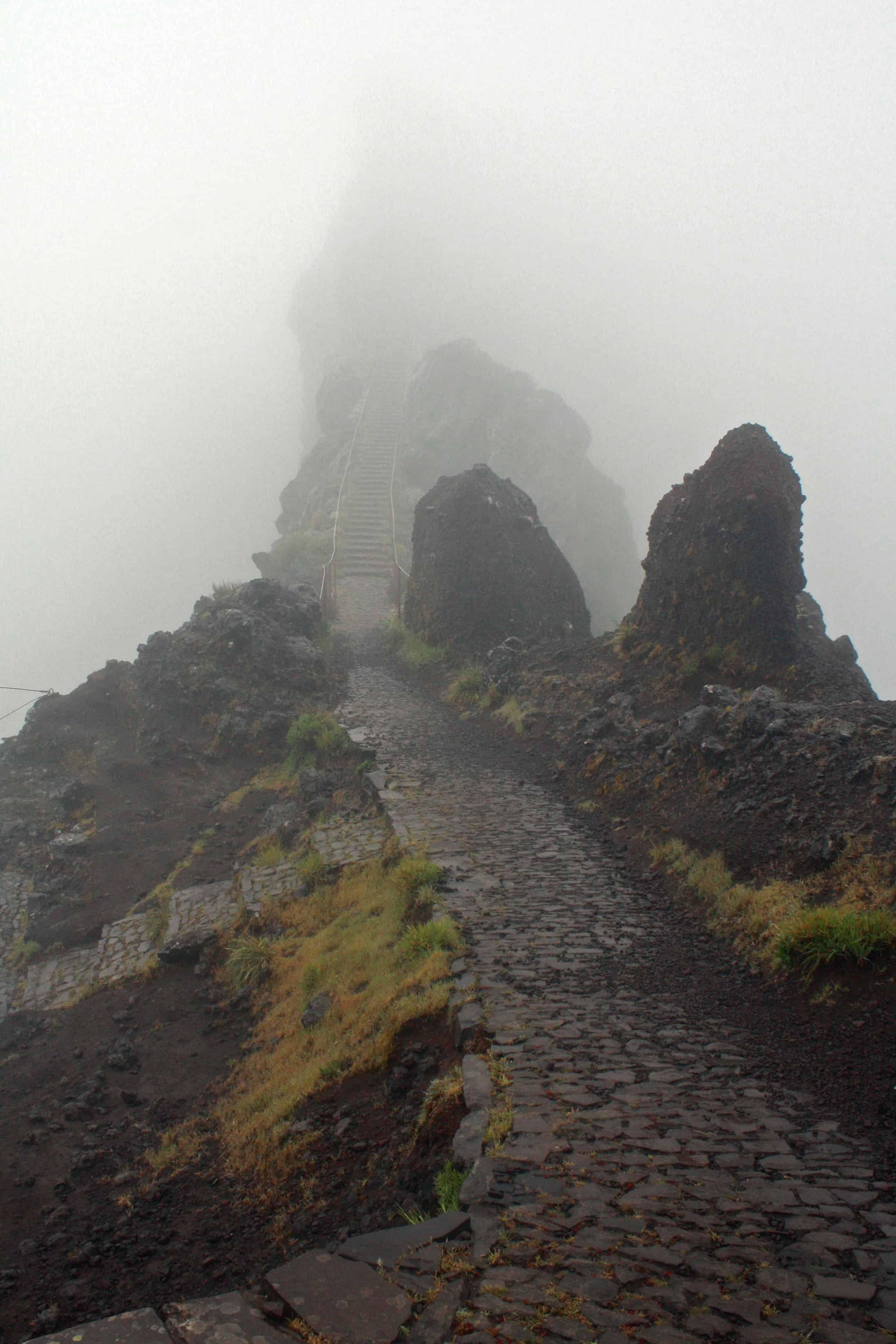 Pico do Arieiro start