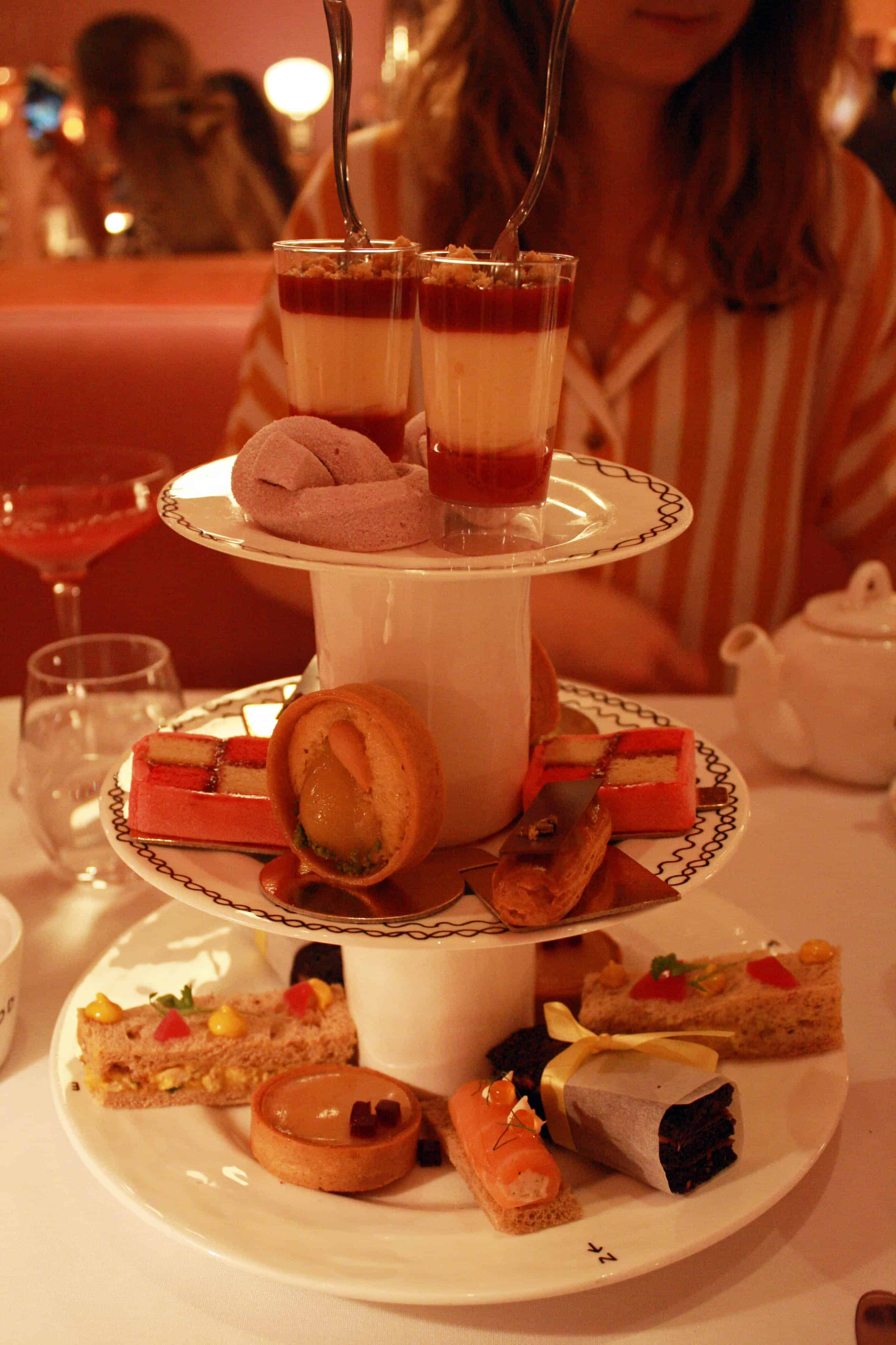 Sketch afternoon tea selection