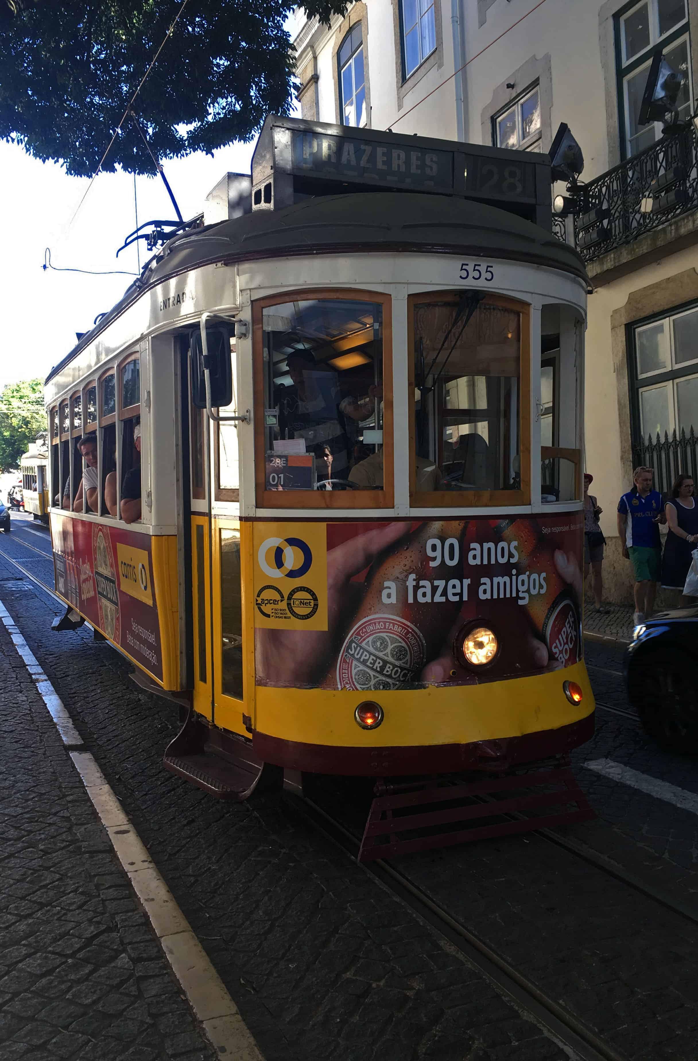 Tram 28 Lisbon