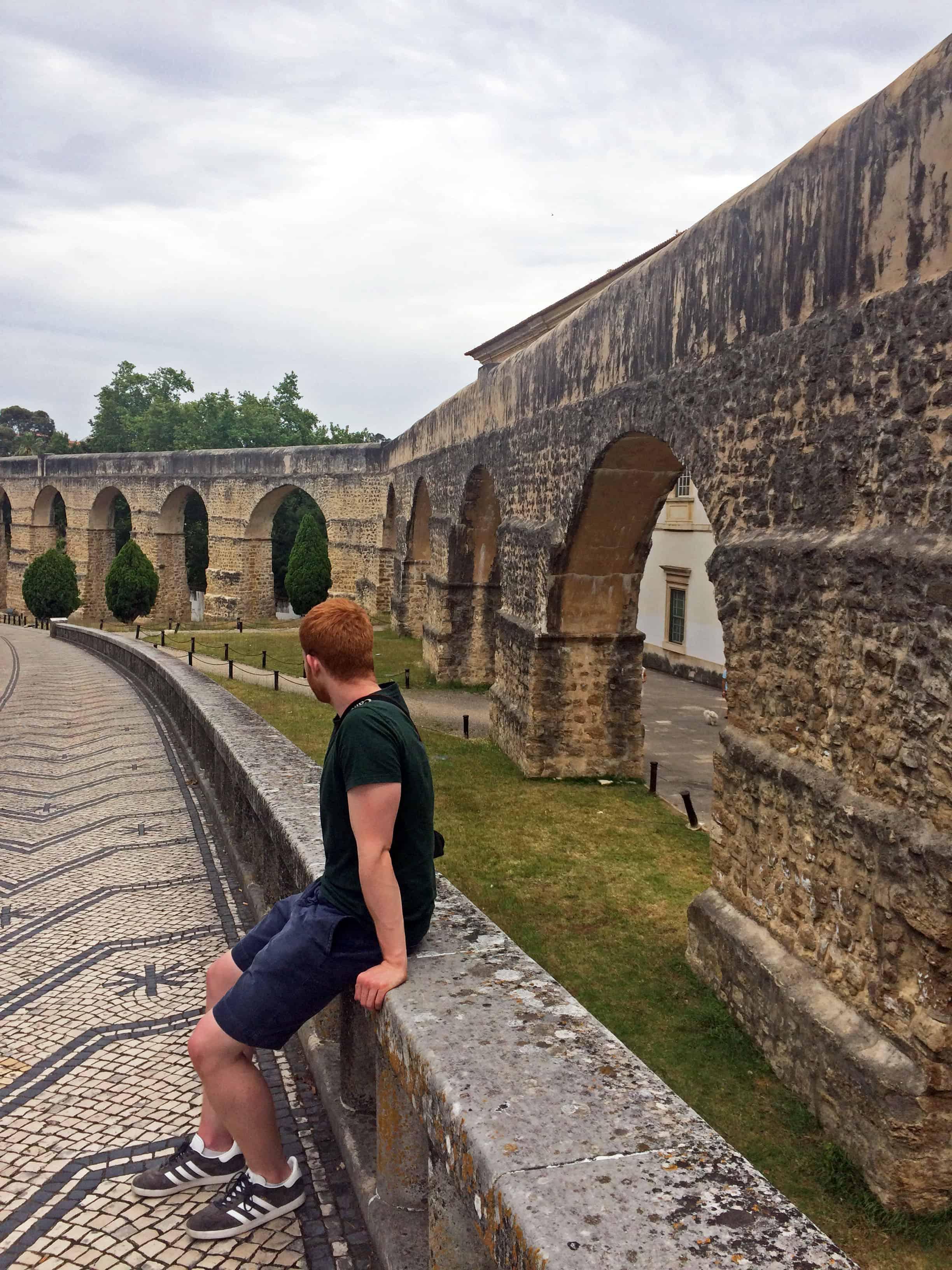 Aqueduto de São Sebastião - Arcos do Jardim Coimbra, Portugal