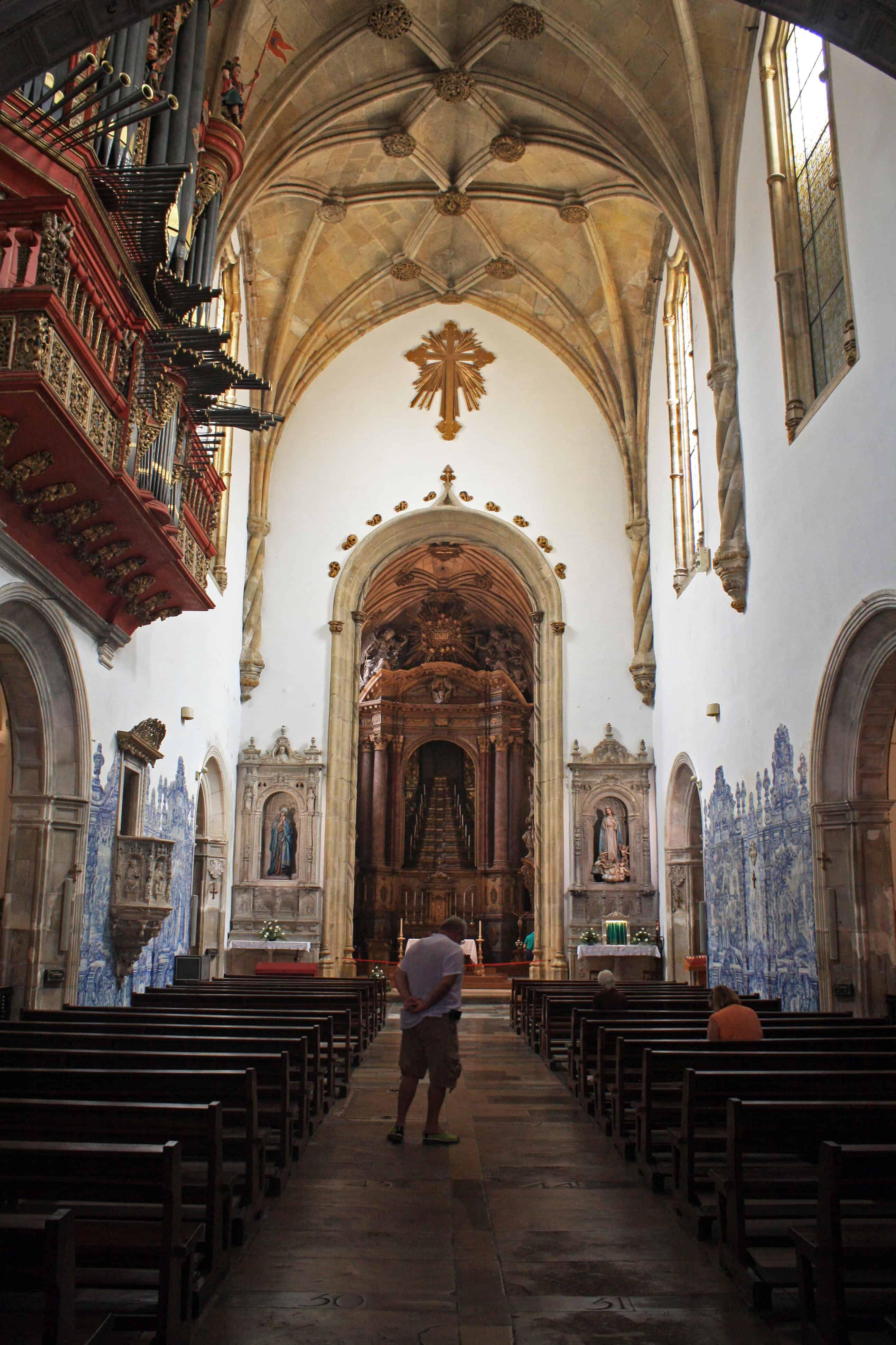 Inside Igreja de Santa Cruz. Coimbra