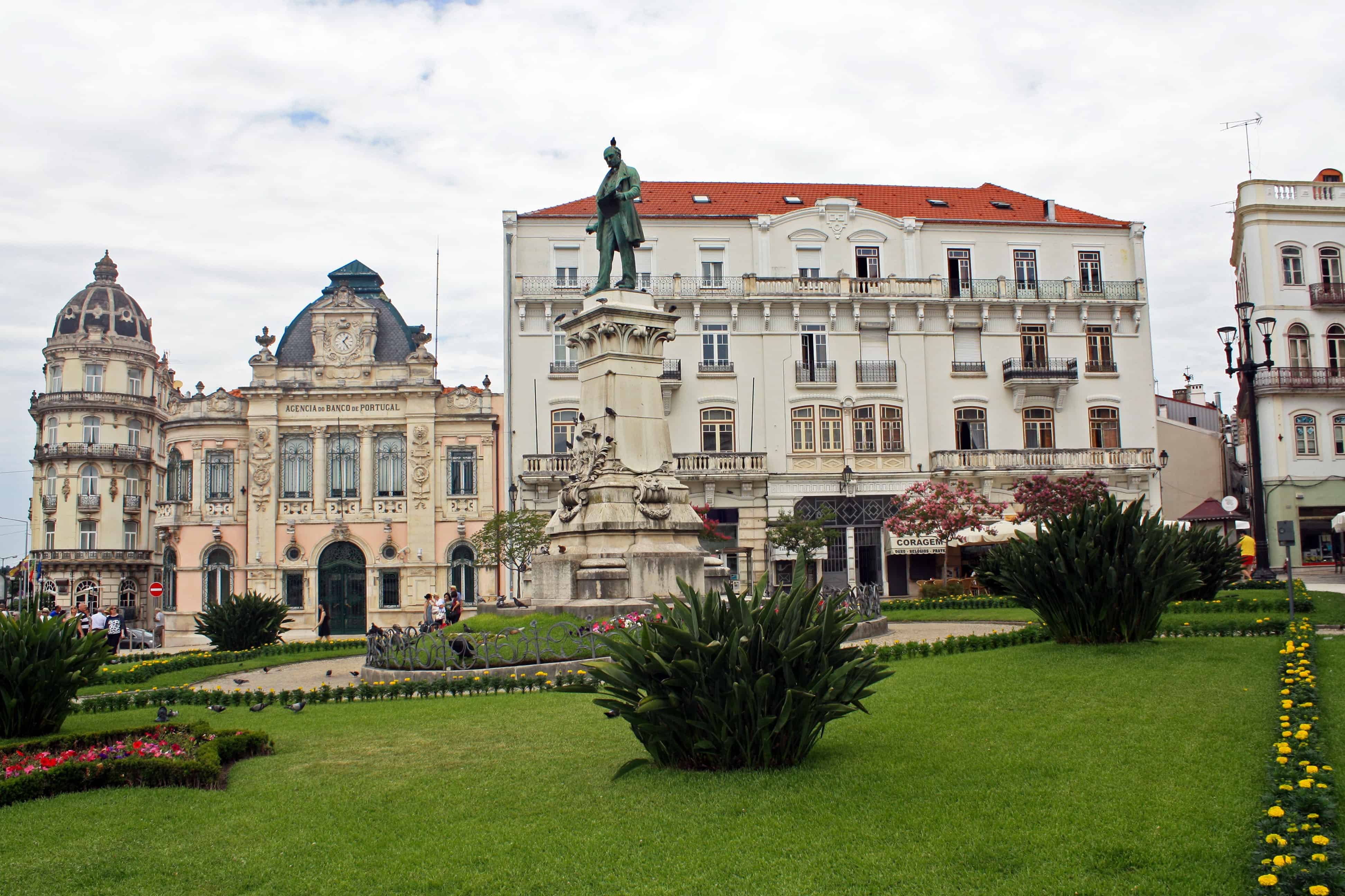 Monument to Joaquim António de Aguiar, Coimbra