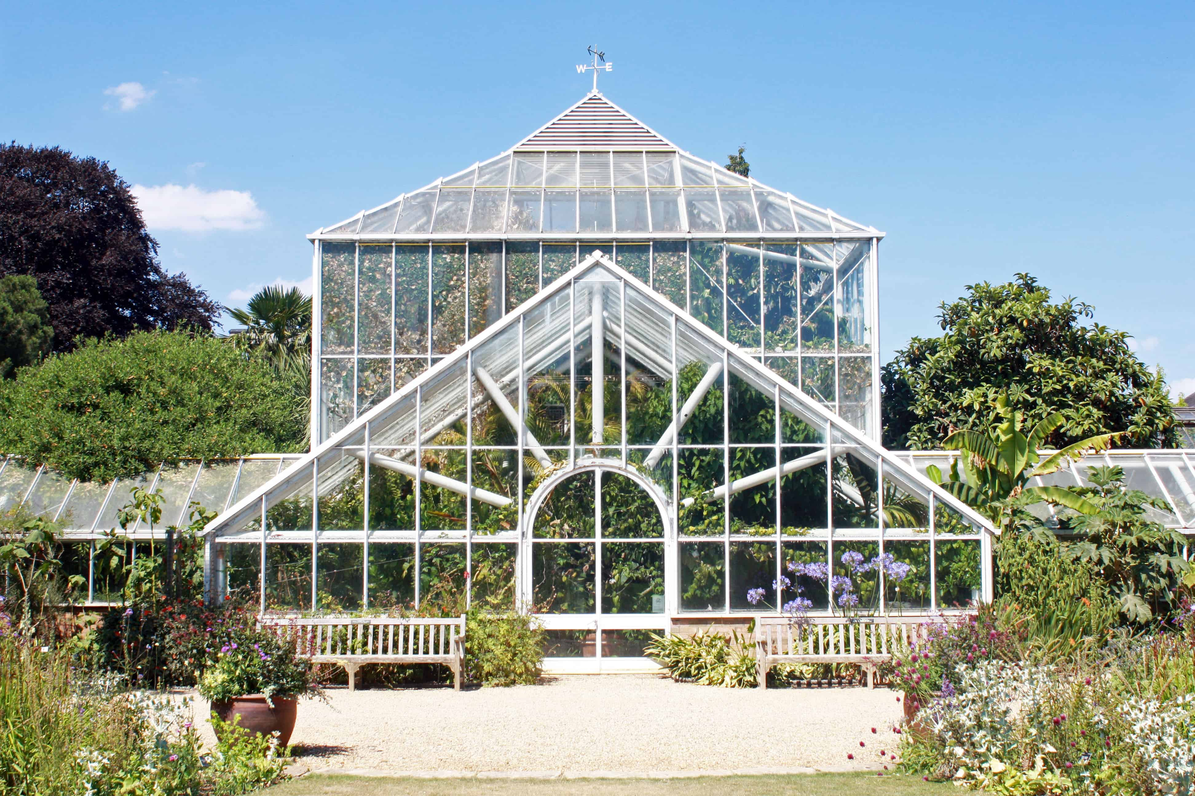 Cambridge University Botanic Garden Greenhouse