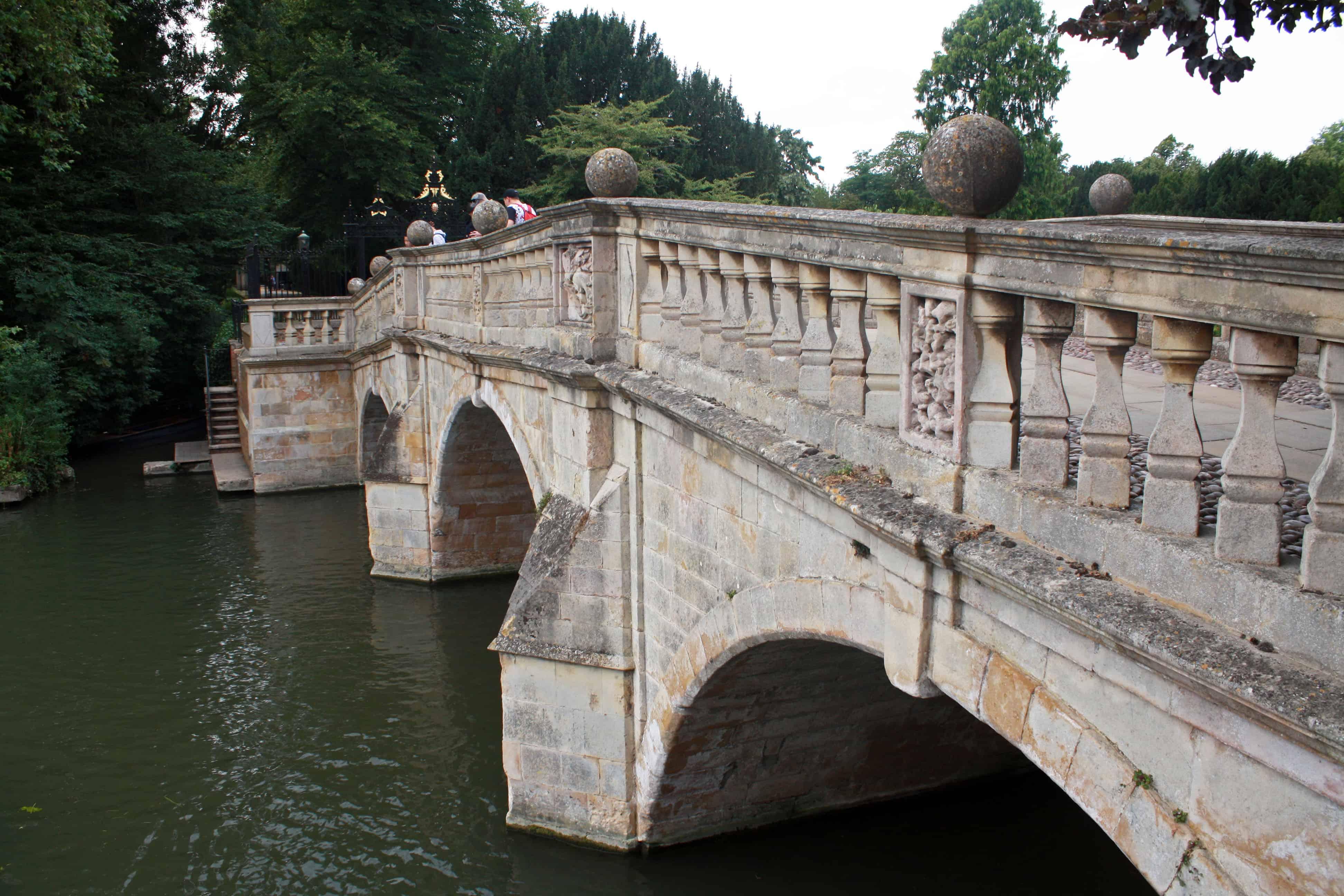 Clare bridge over the River Cam, Cambridge