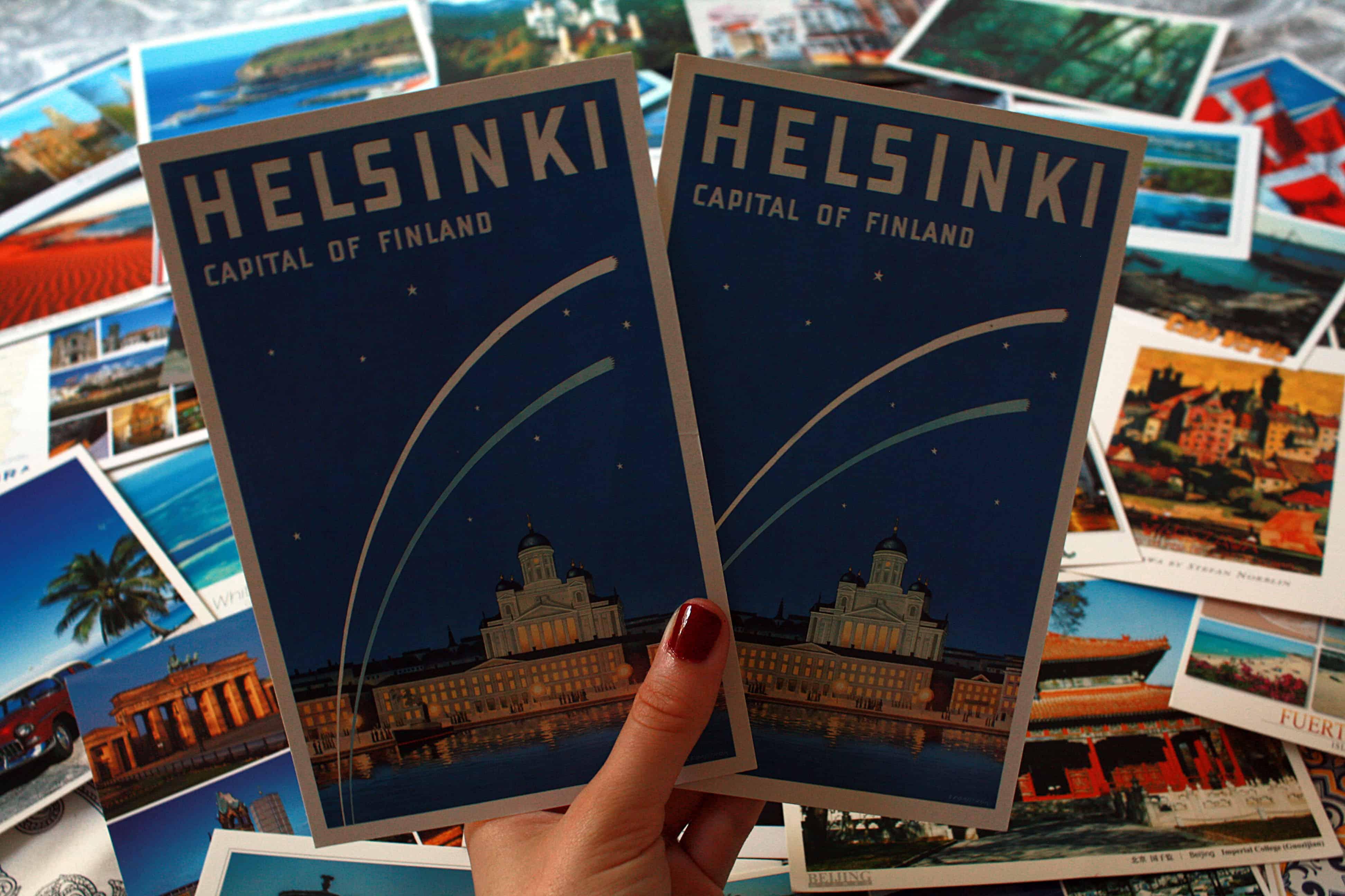 Finland postcards