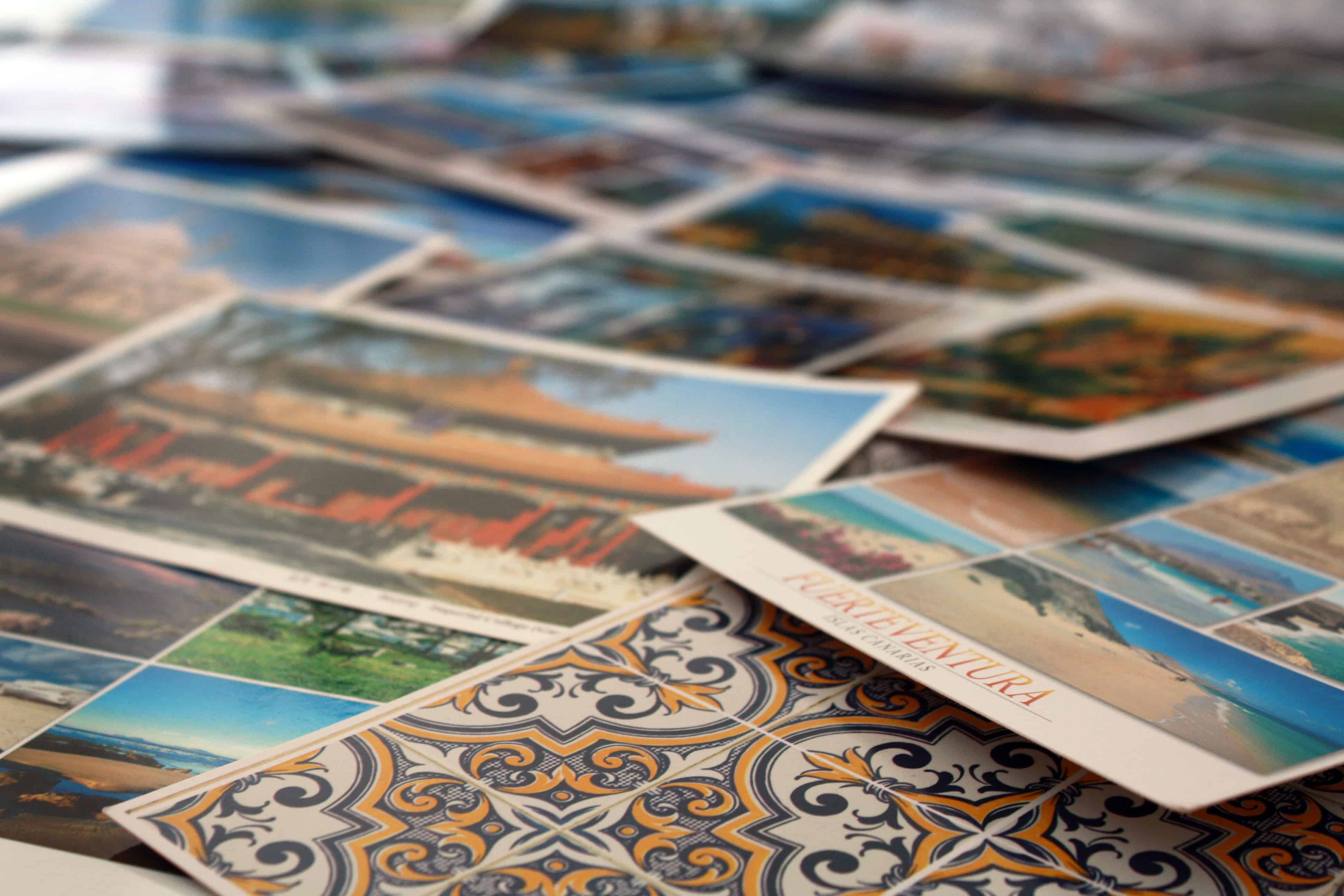Lisbon and Fuerteventura postcards and more