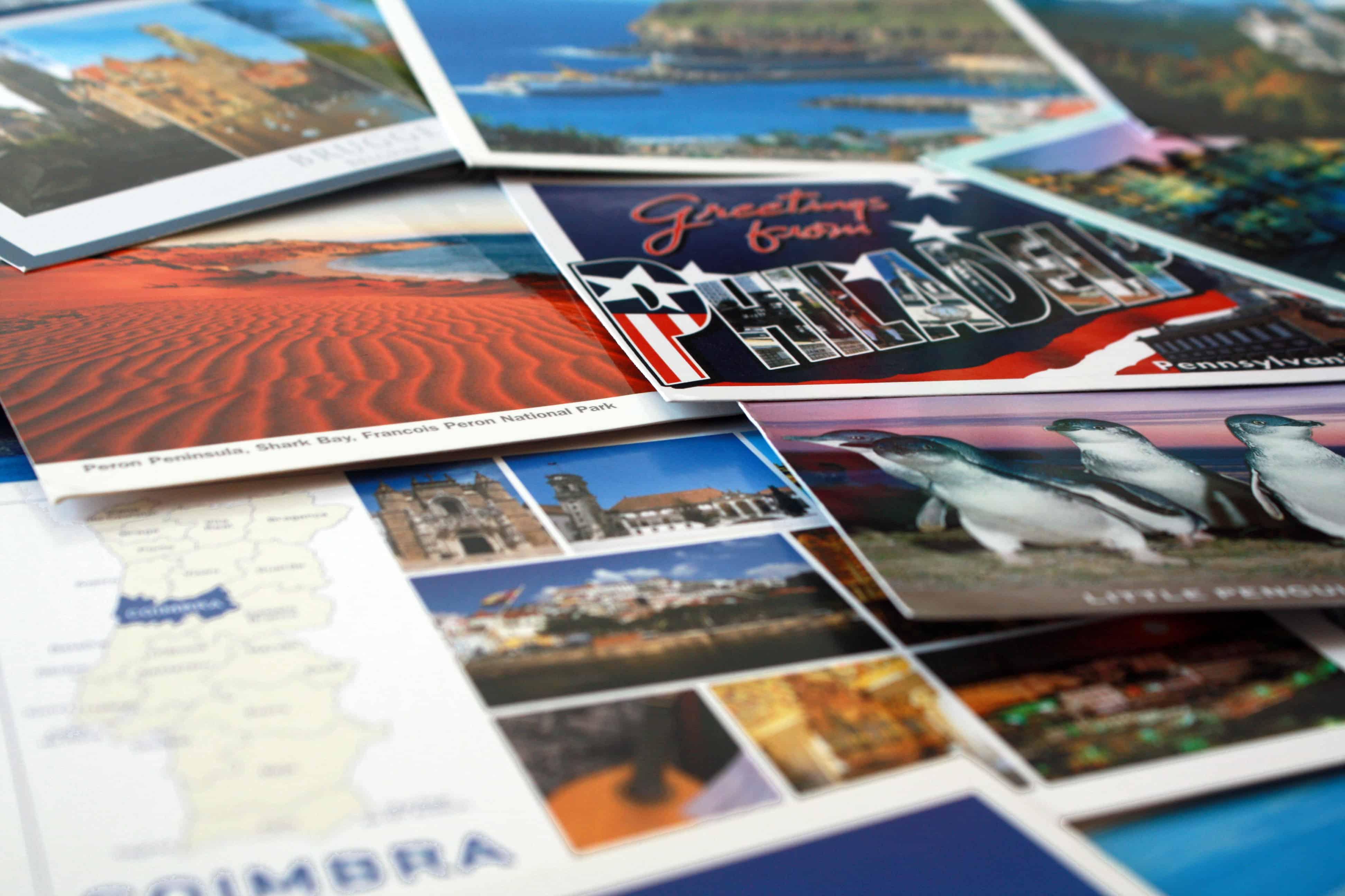 Philadelphia postcard and more