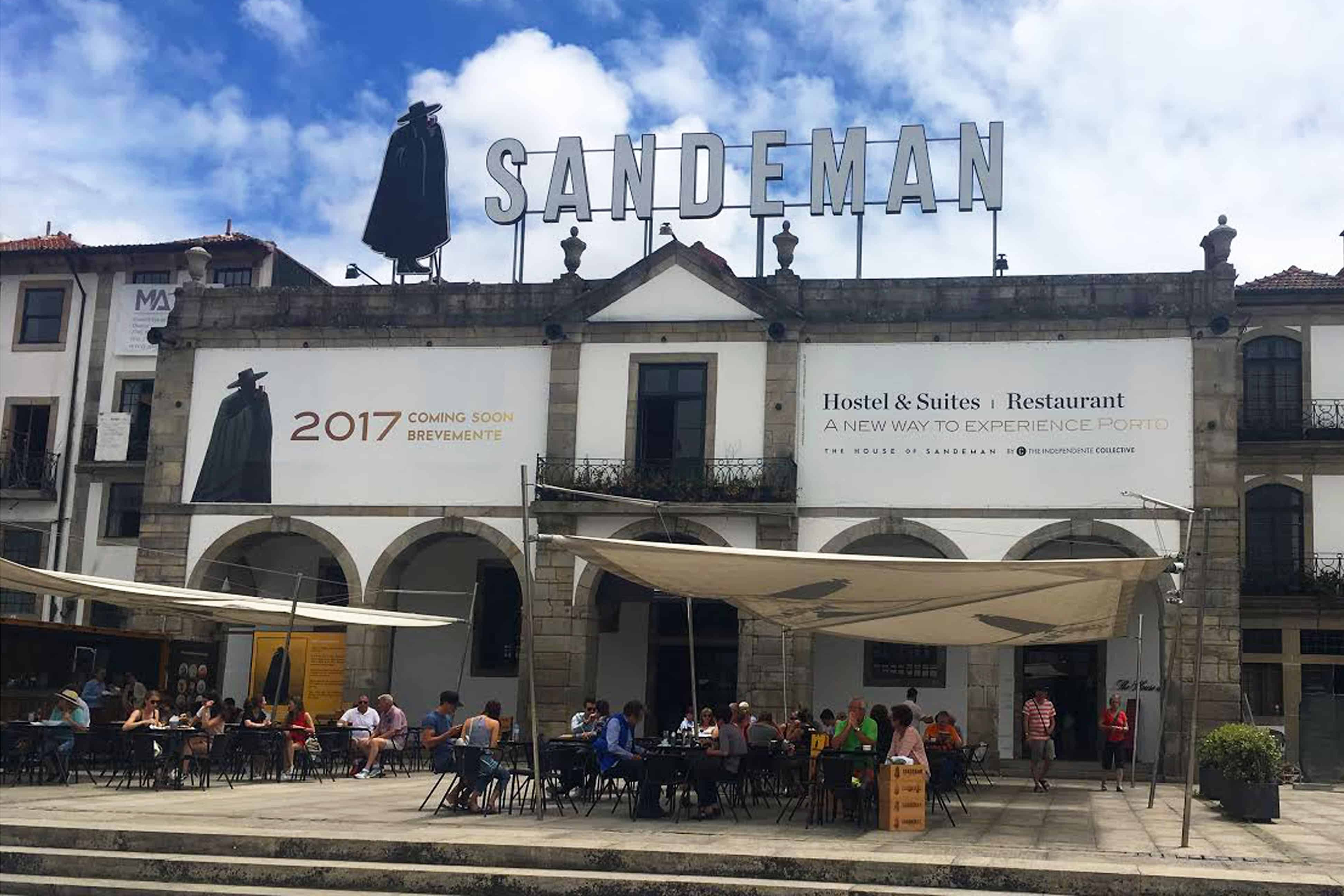 House of Sandeman Port wine cellar