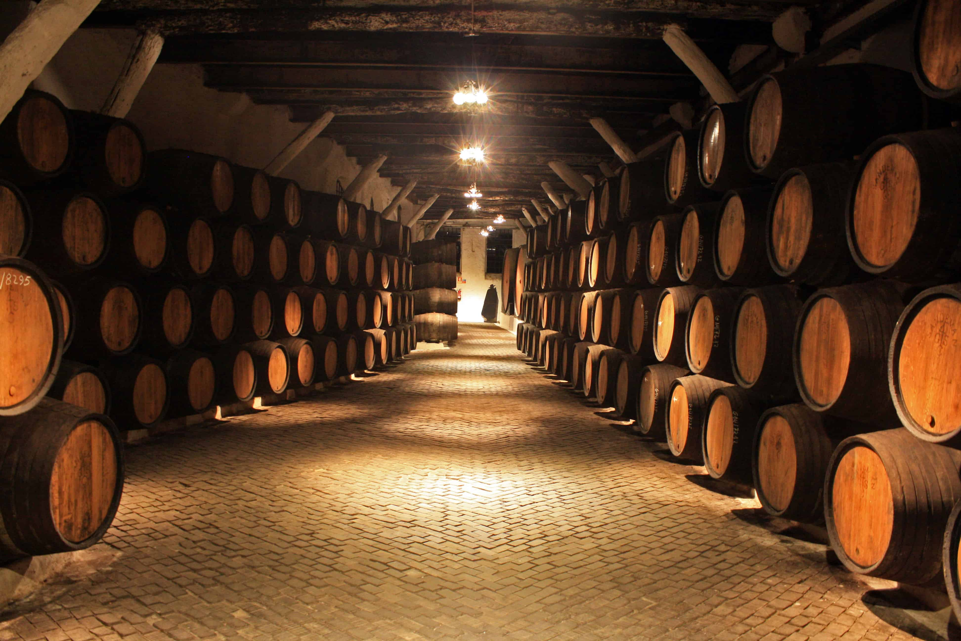 Sandeman Port wine cellars