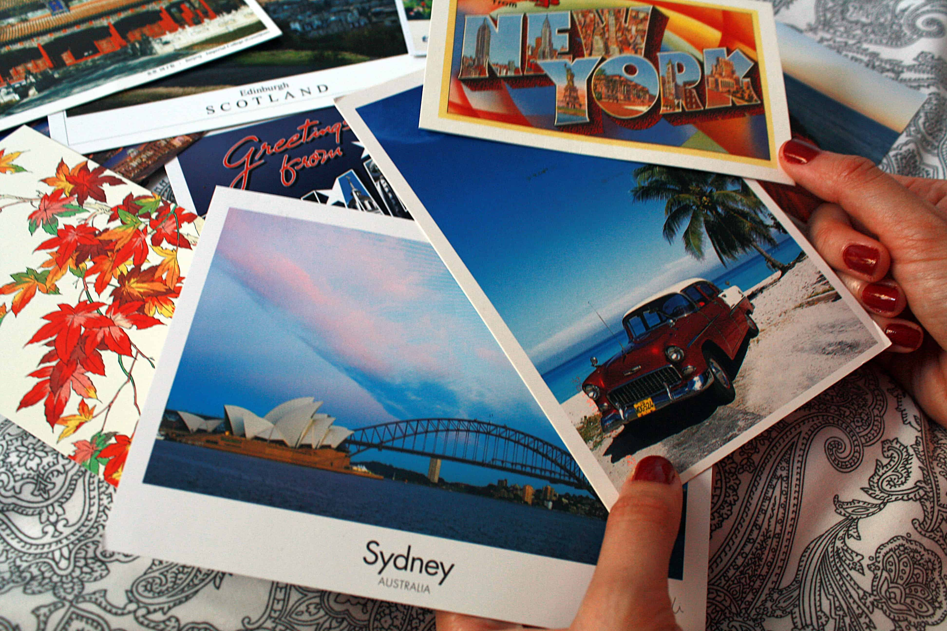 Sydney, Cuba, New York postcards and more