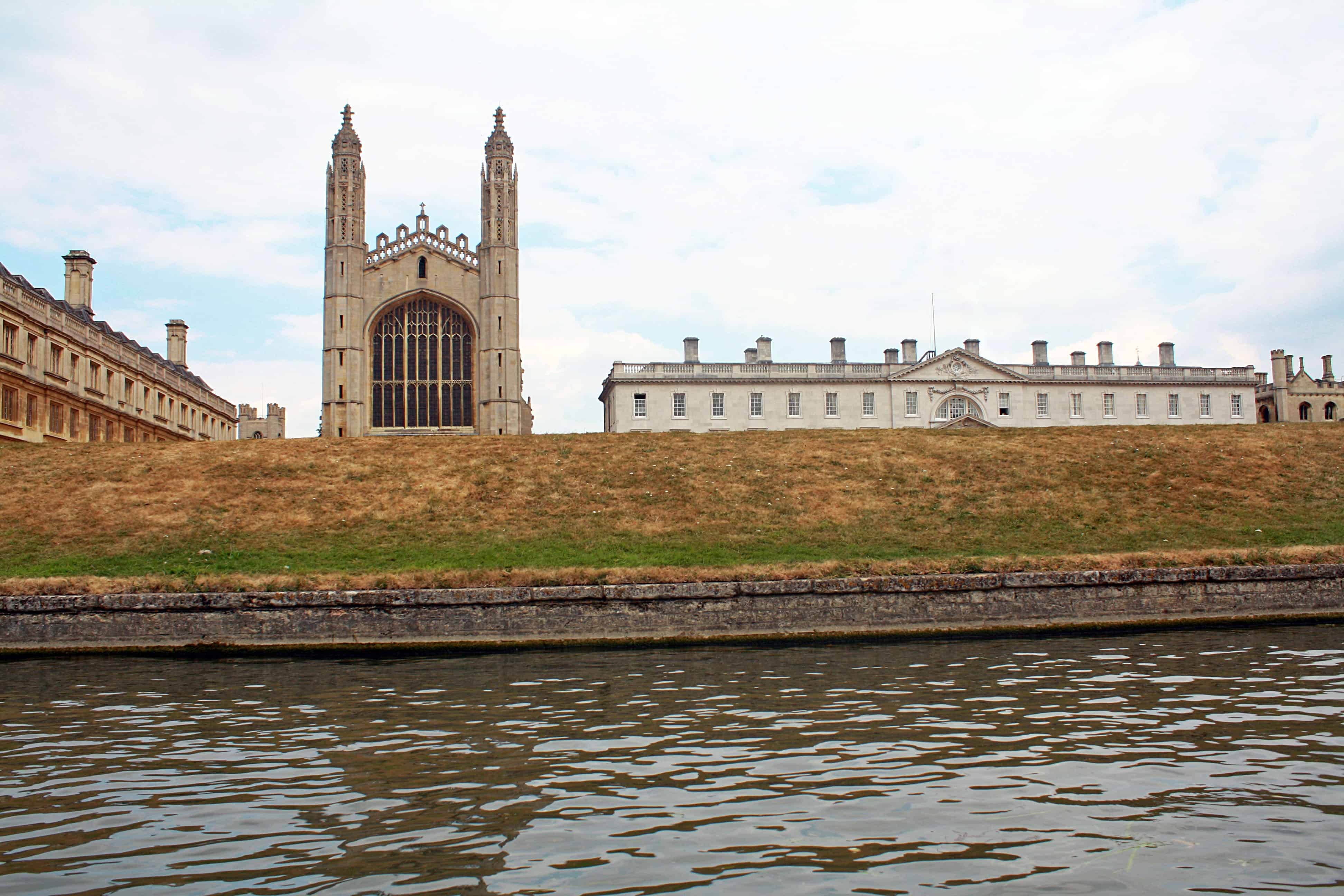 View of King's College Cambridge from the River Cam