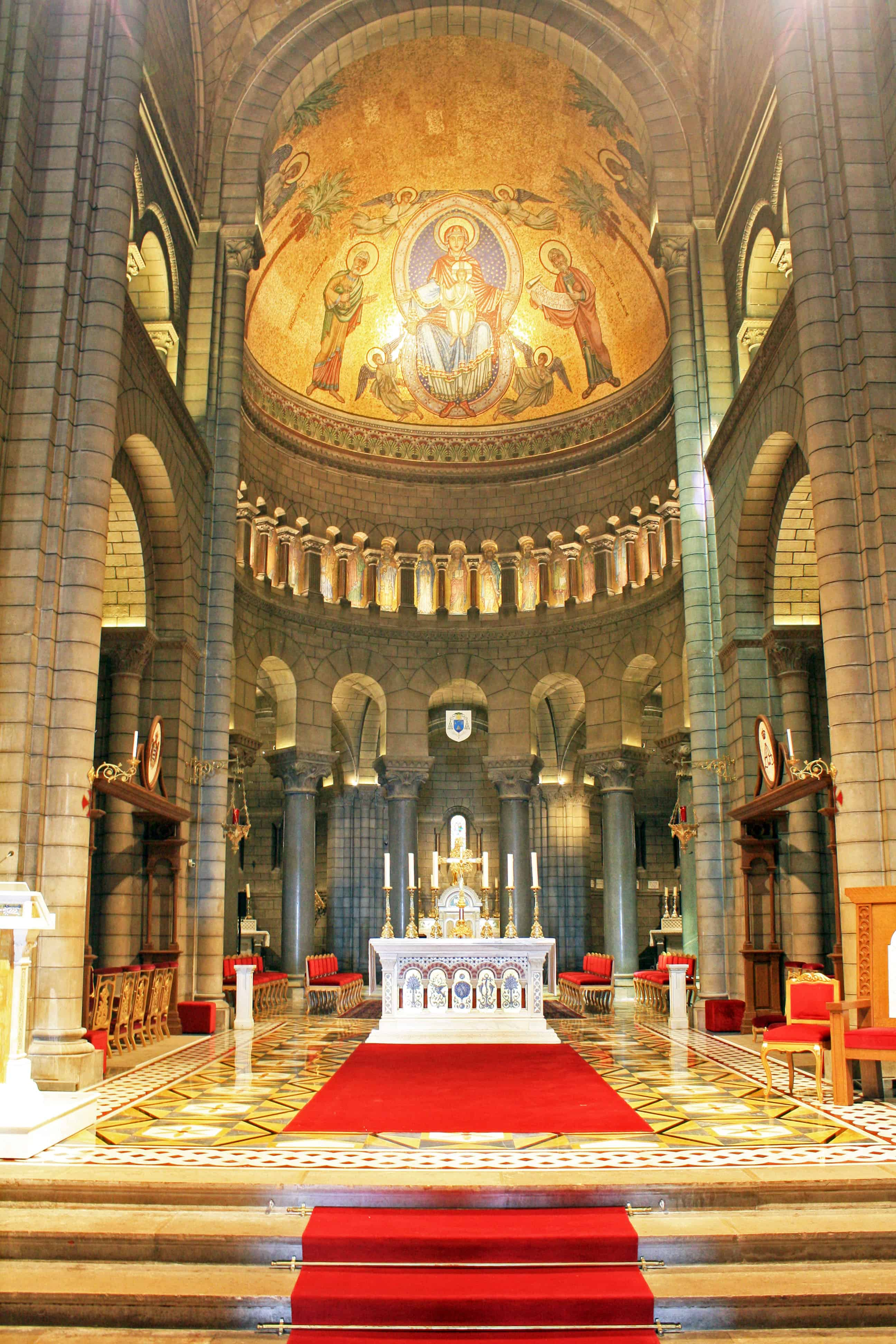 Inside Saint Nicholas Cathedral, Monaco