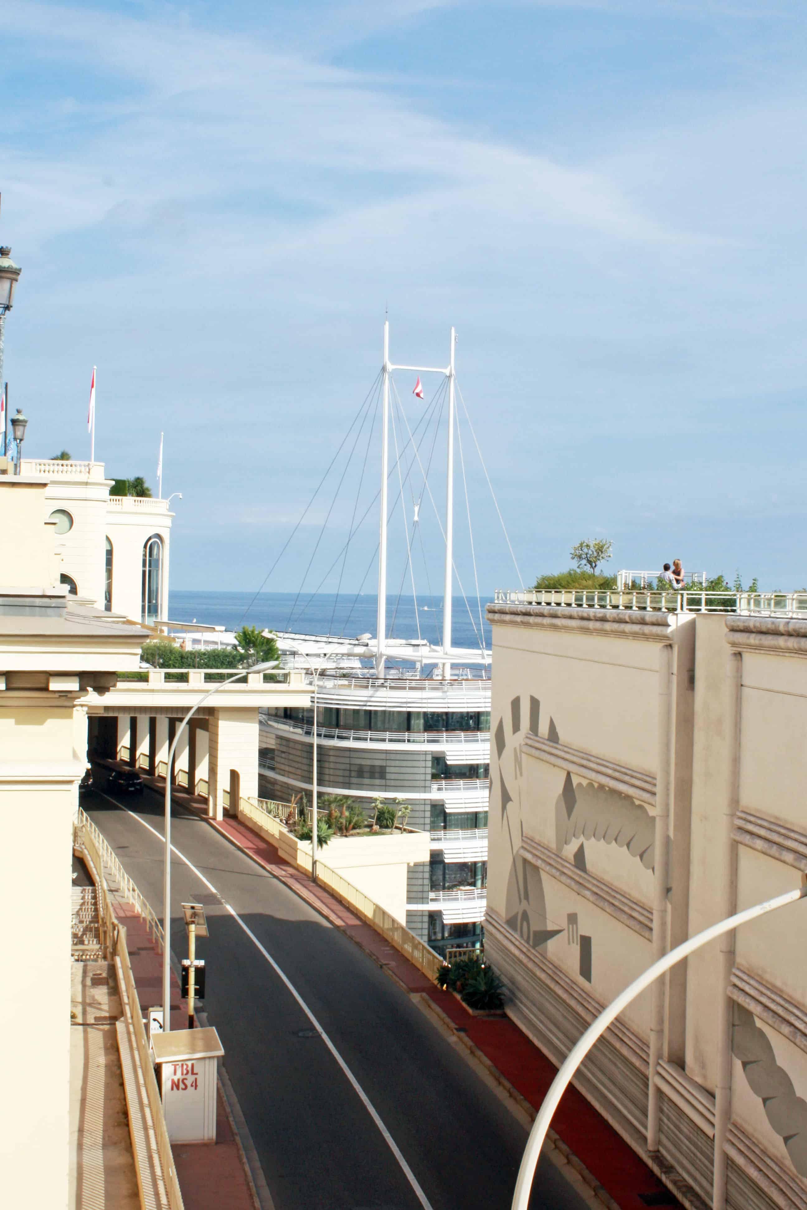 Monaco Tunnel Exit