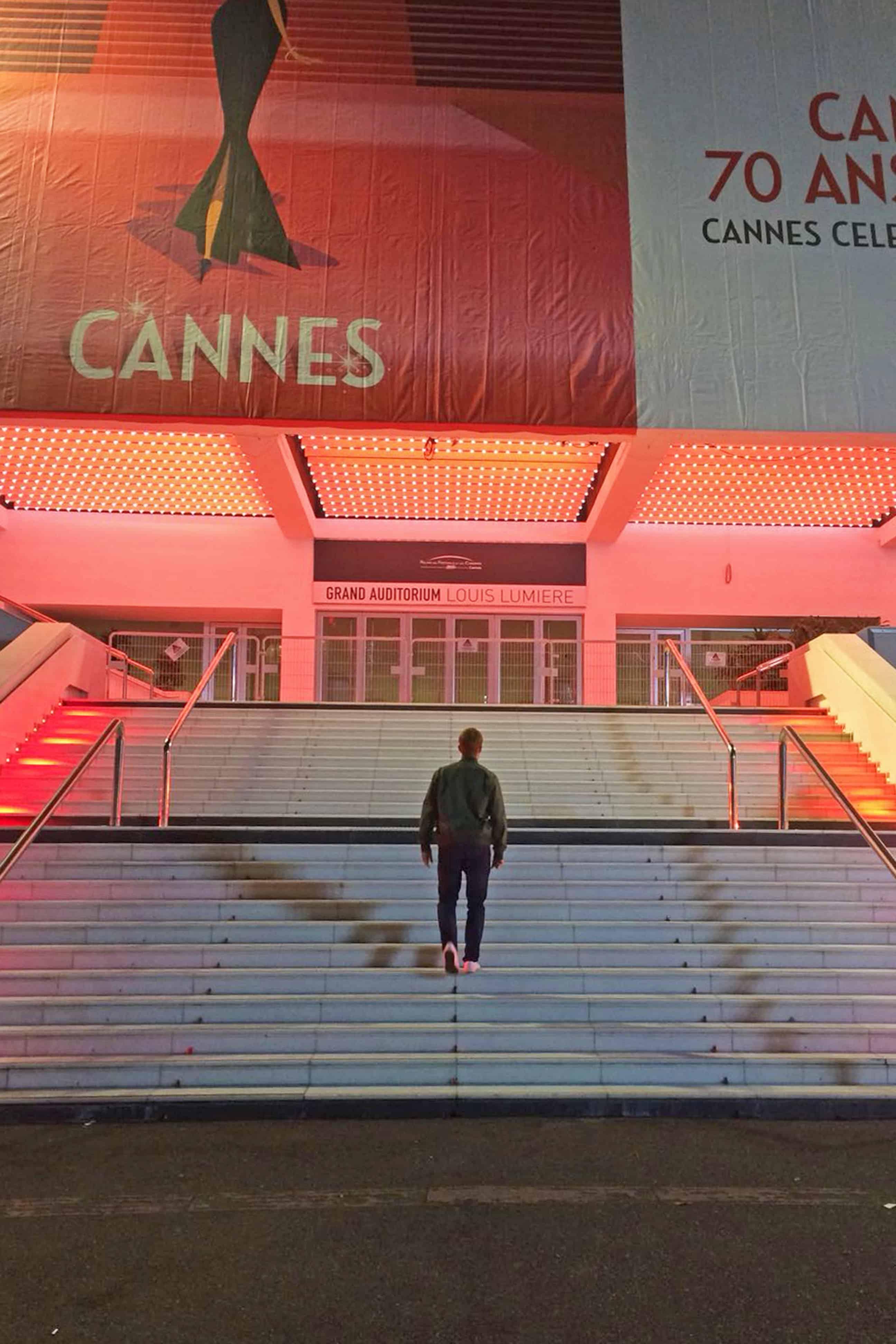 Palais des Festivals Cannes steps