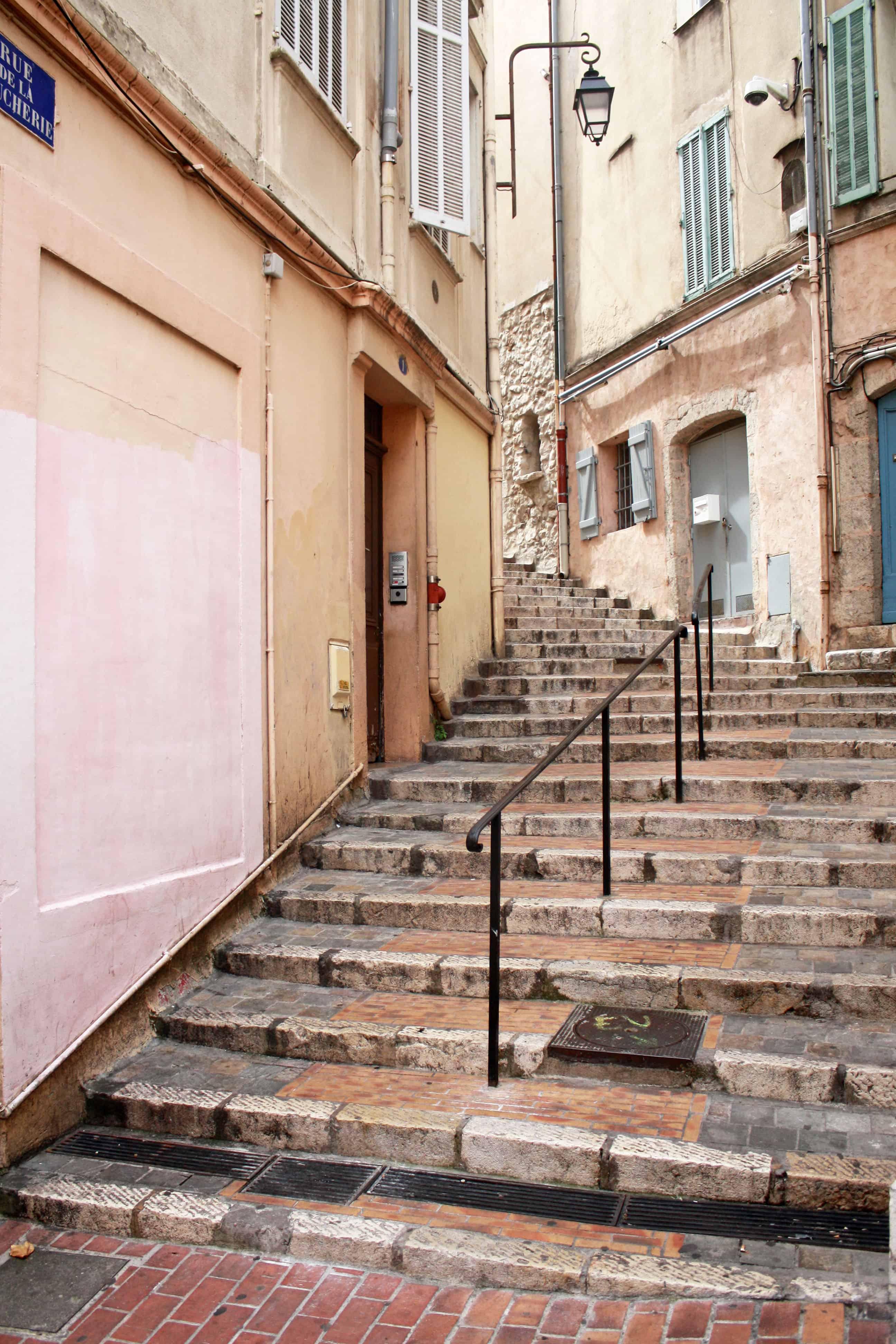 Rue de la Boucherie, Cannes, France