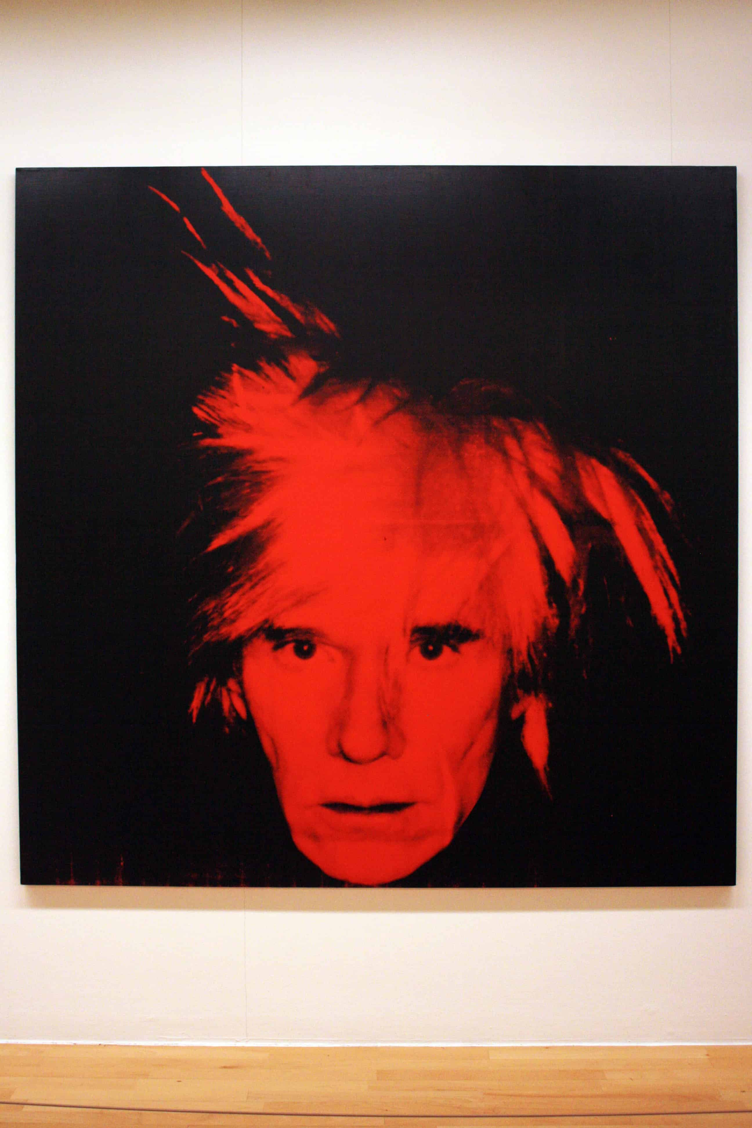 Andy Warhol - Self Portrait 1986 at Tate Liverpool