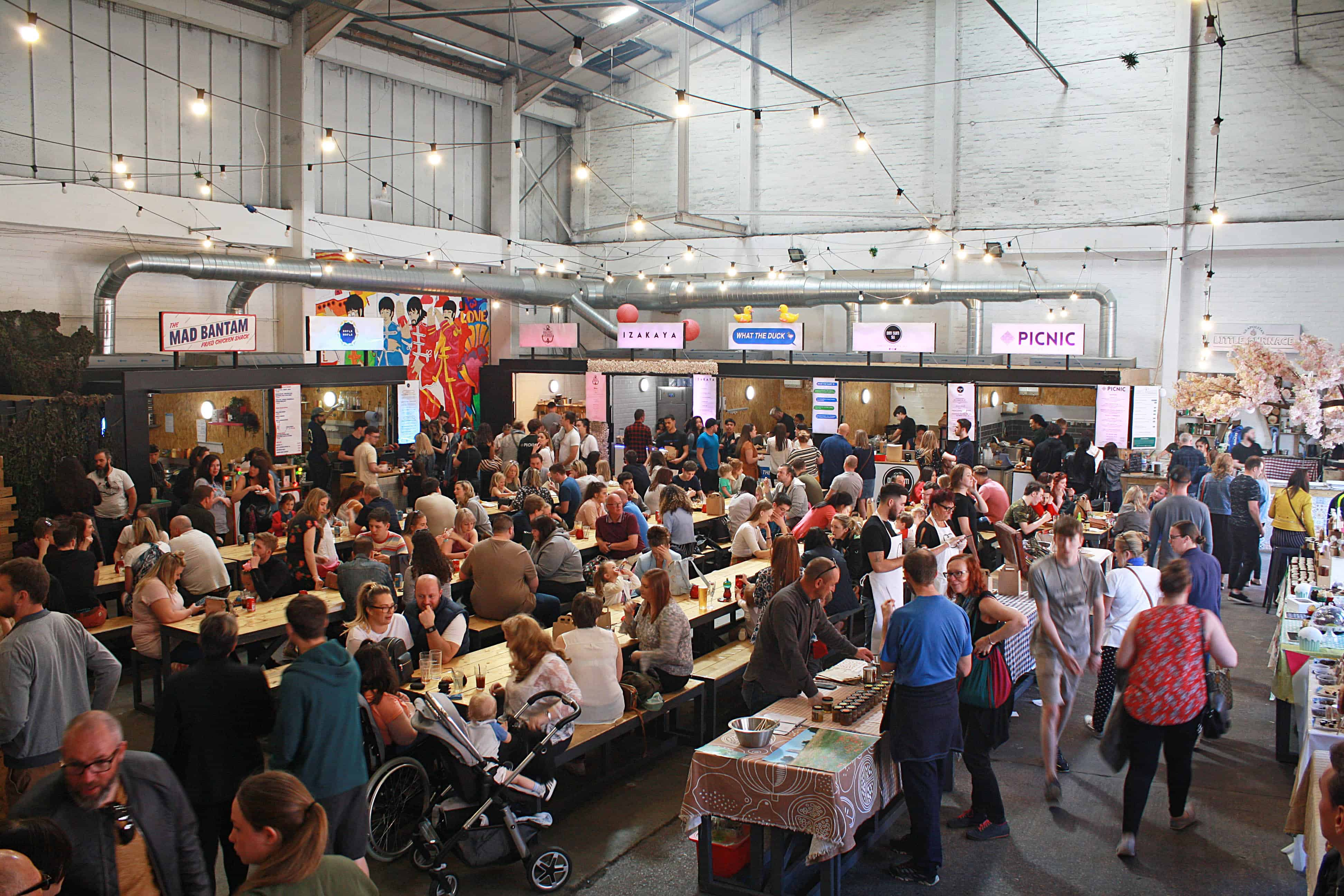 Baltic Market at Cains Brewery Village, Liverpool