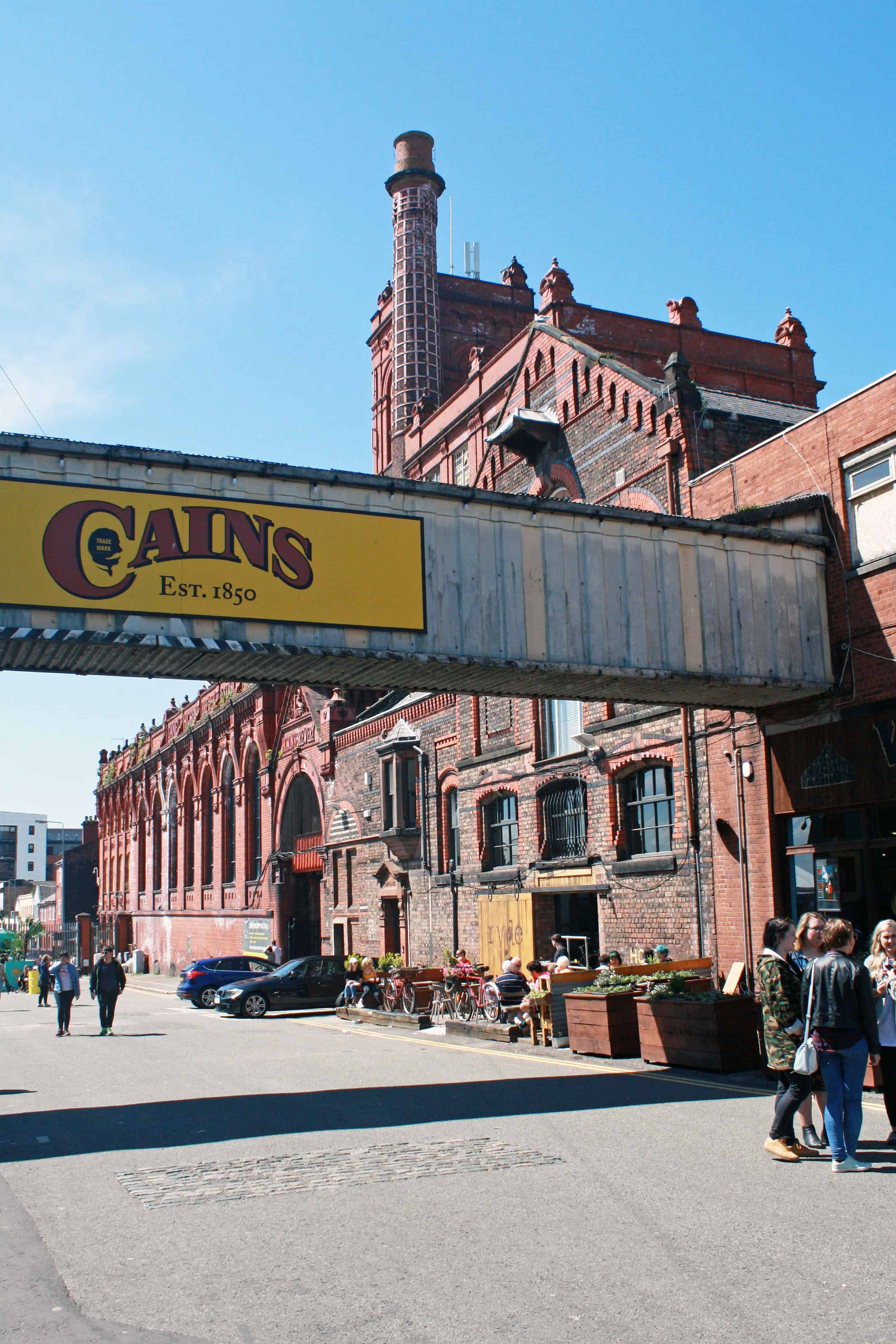 Cains Brewery Village Liverpool