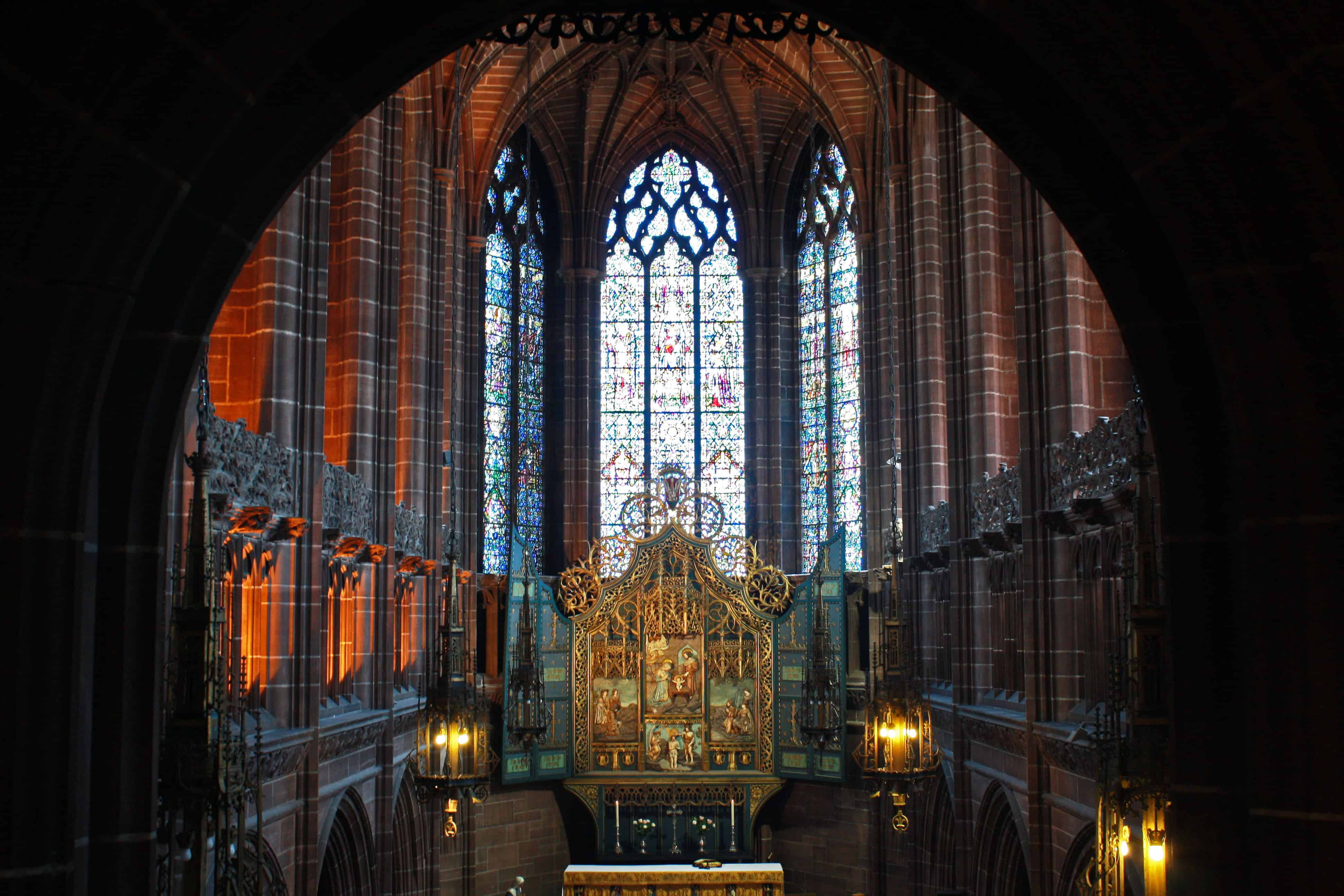 Lady Chapel Liverpool Cathedral