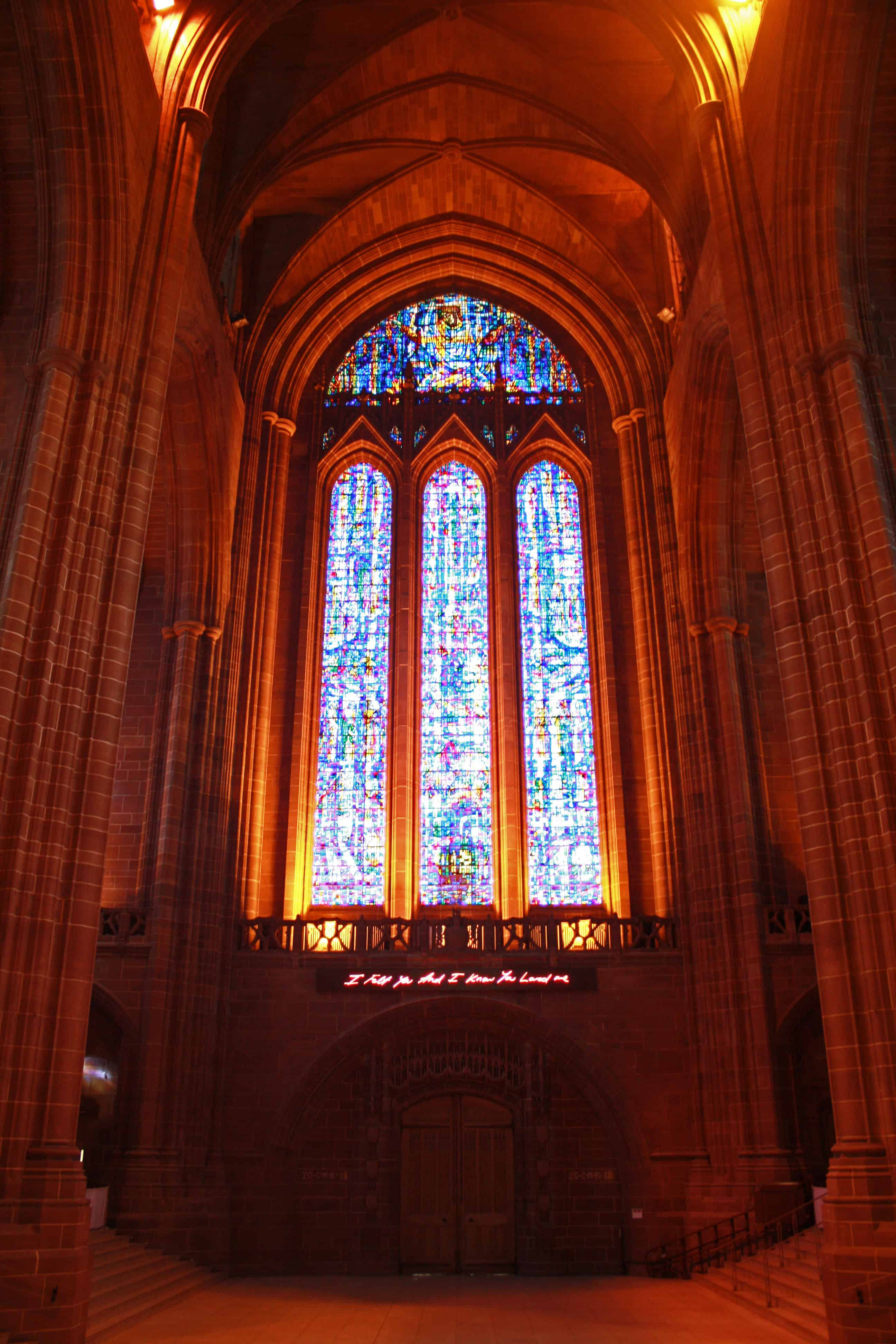 Liverpool Anglican Cathedral Inside