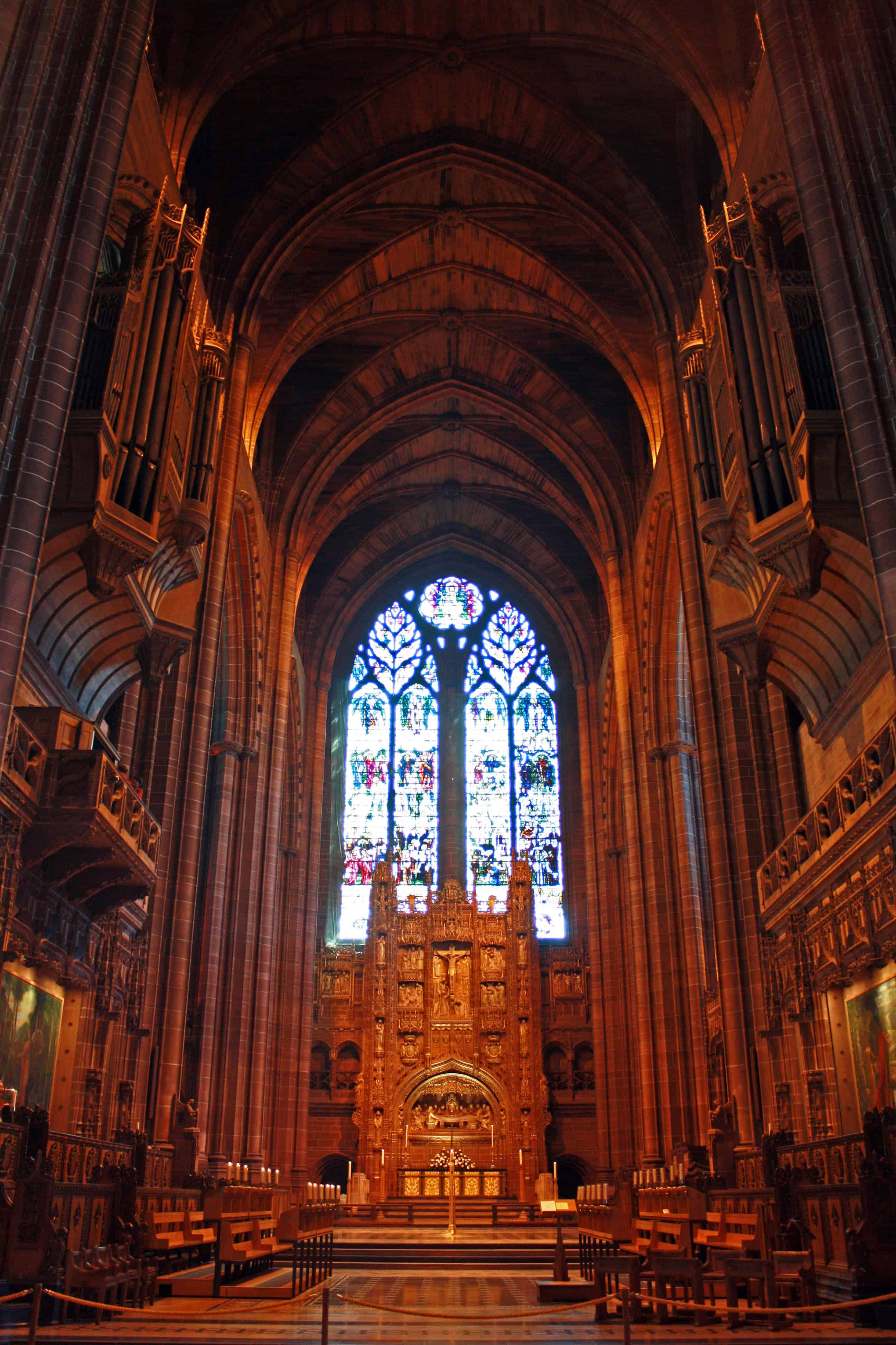 Liverpool Cathedral Inside