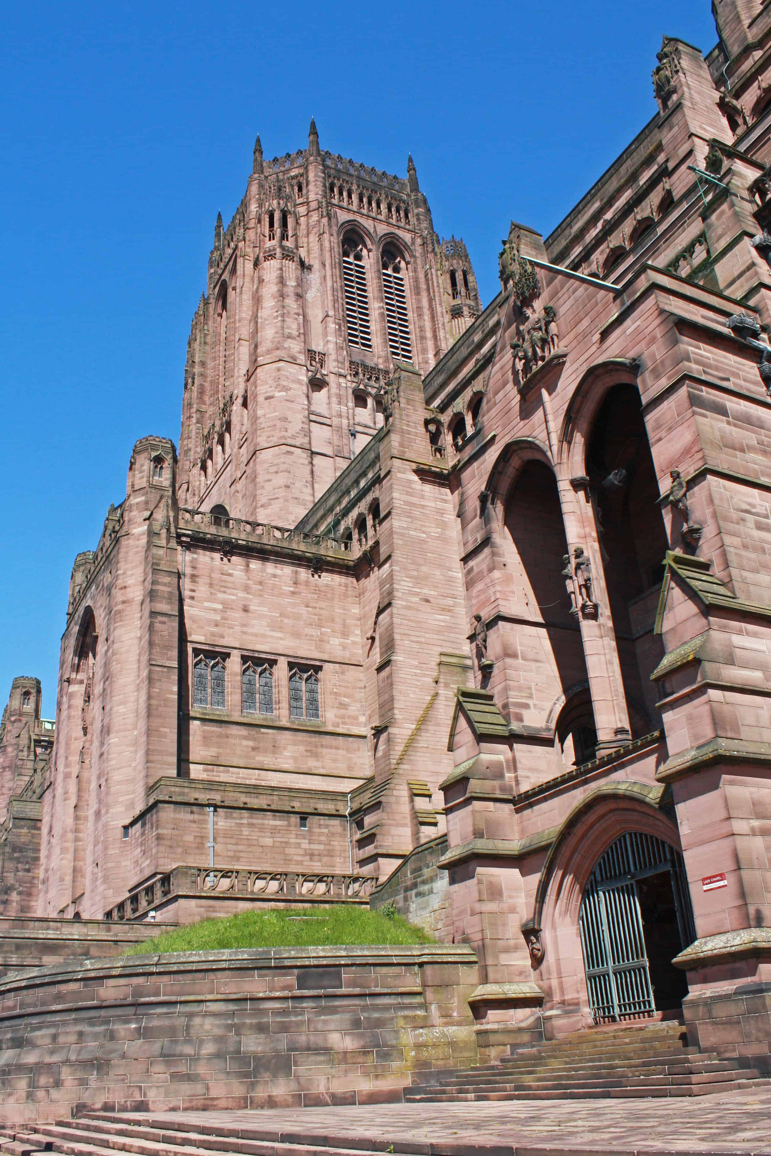 Liverpool Cathedral Tower and Entrance