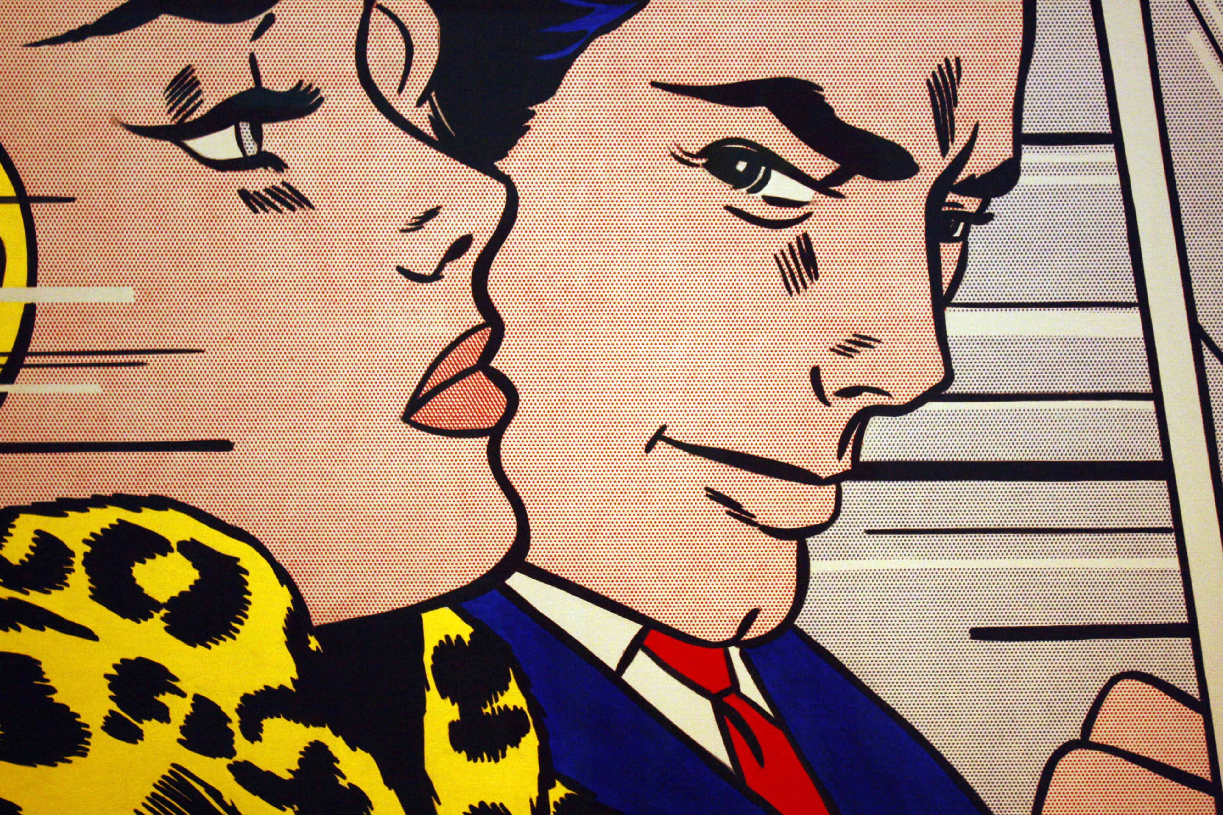 Roy Lichtenstein - In the Car, Tate Liverpool