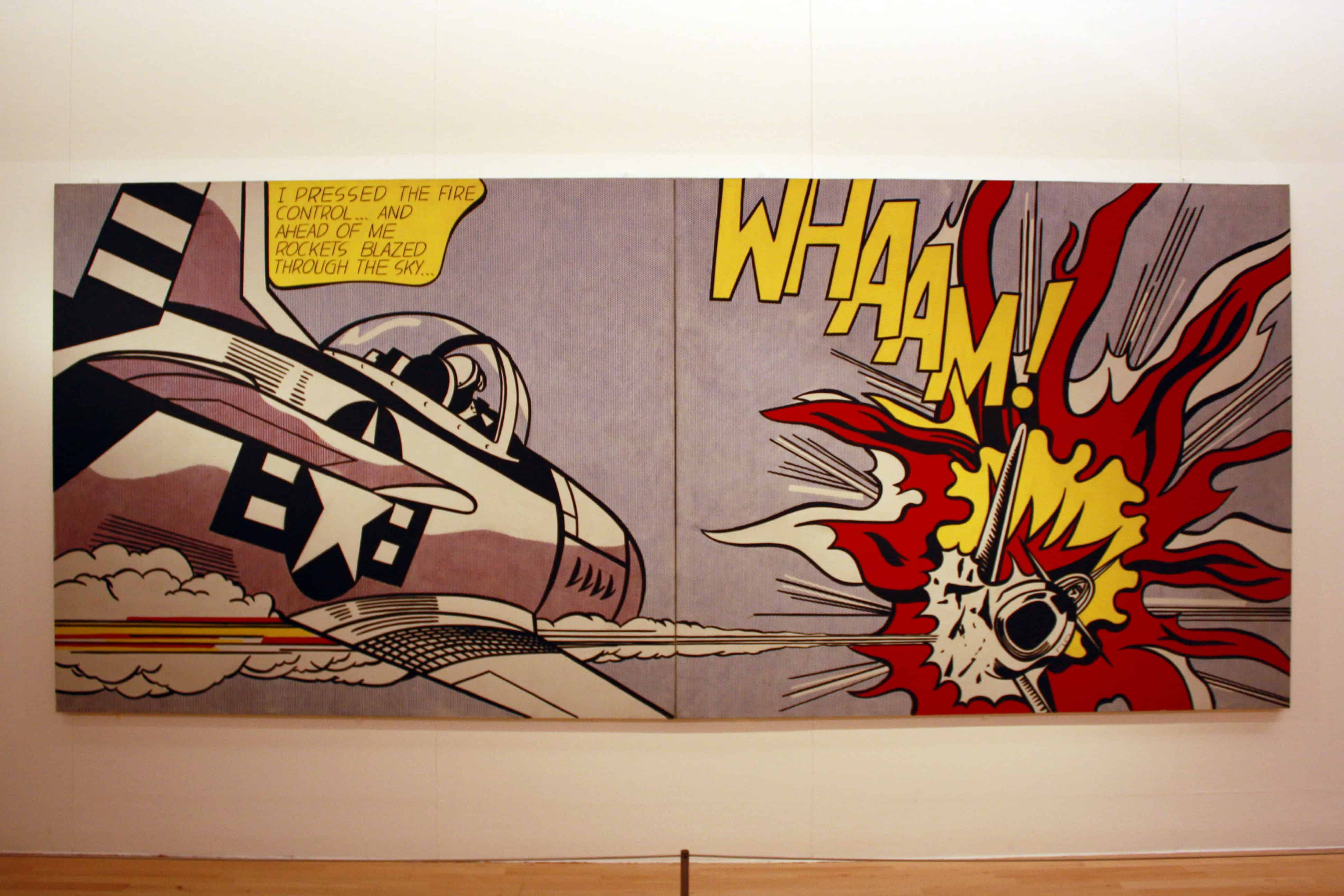 Roy Lichtenstein - Whaam! at Tate Liverpool