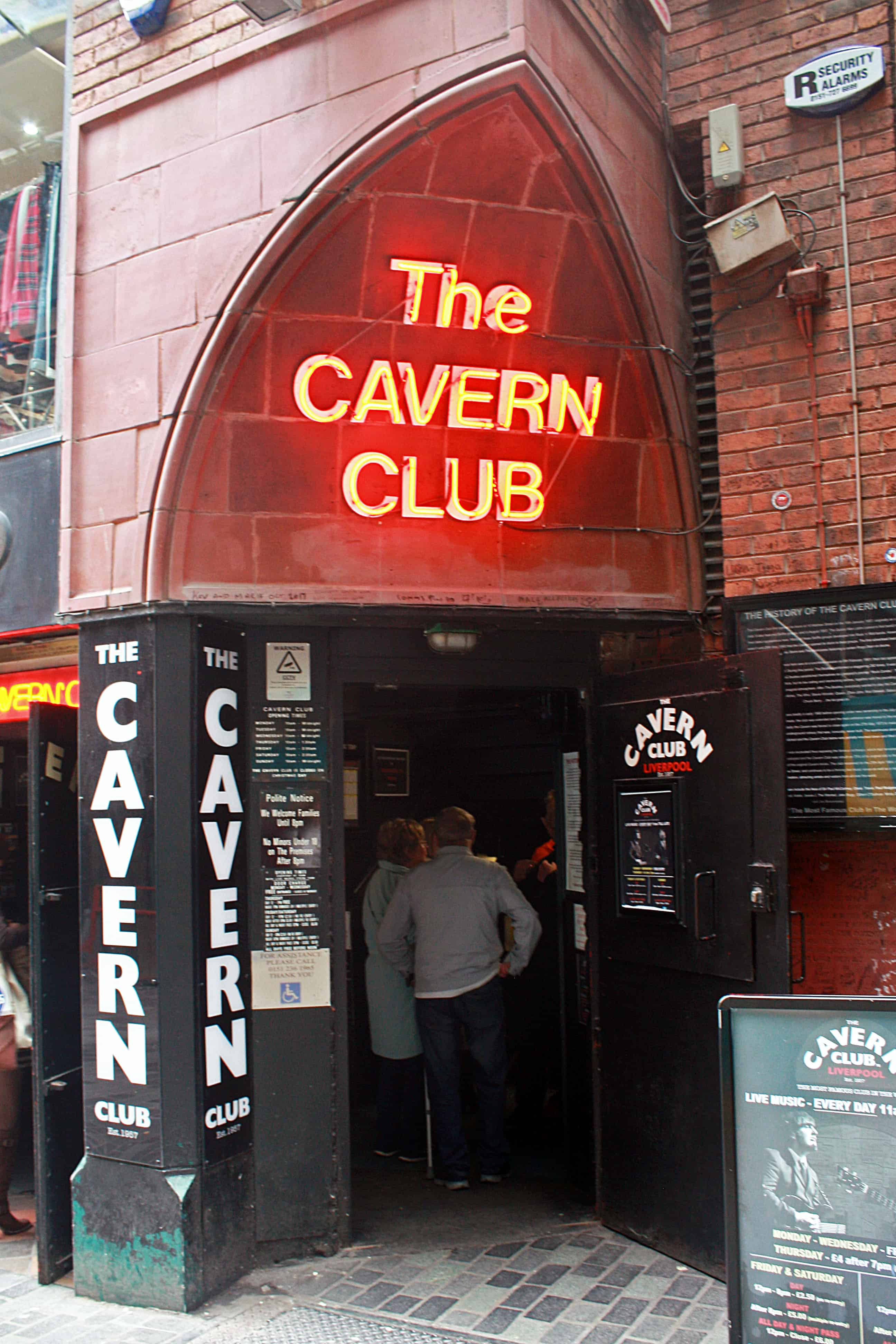 The Cavern Club Doors