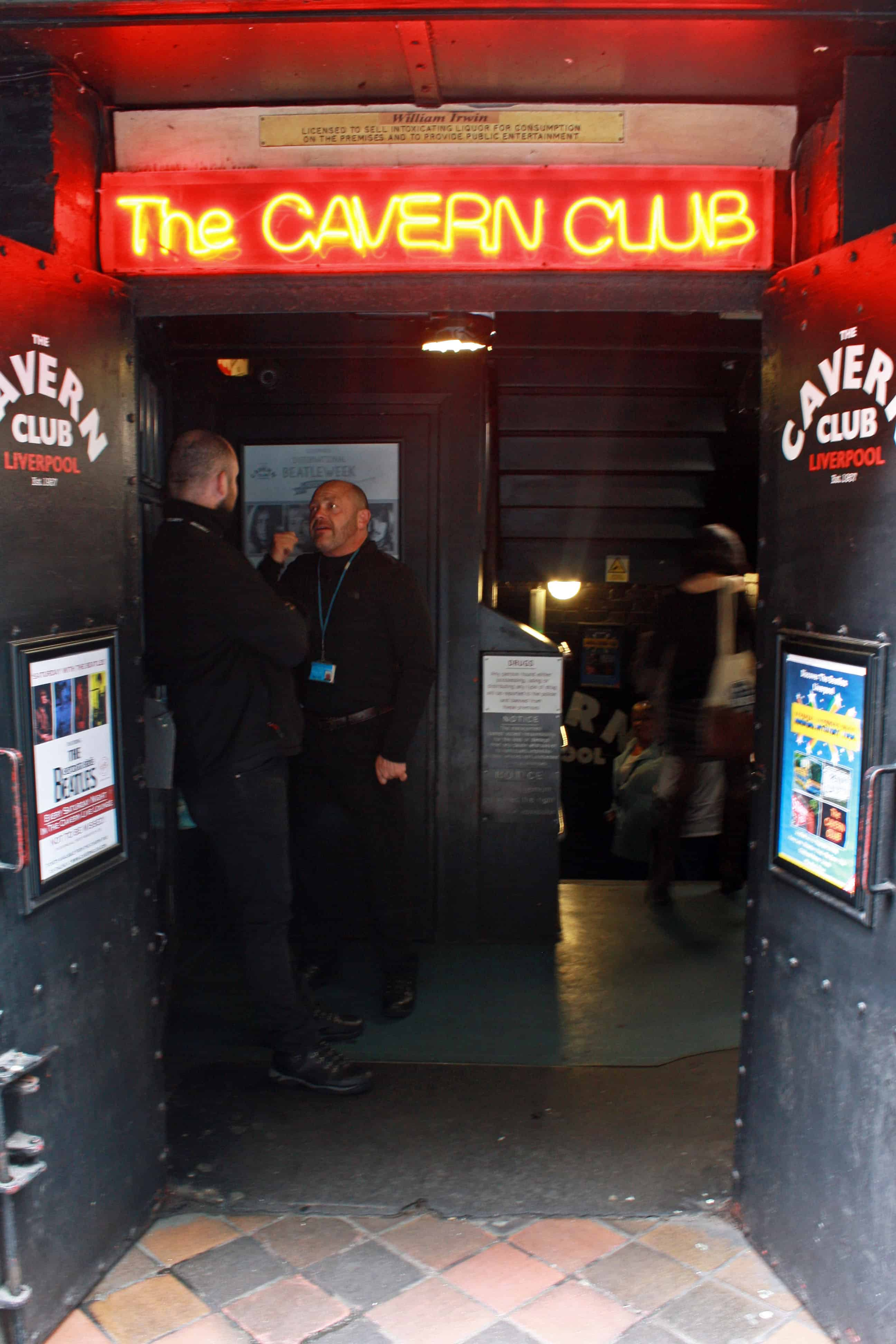 The Cavern Club Entrance