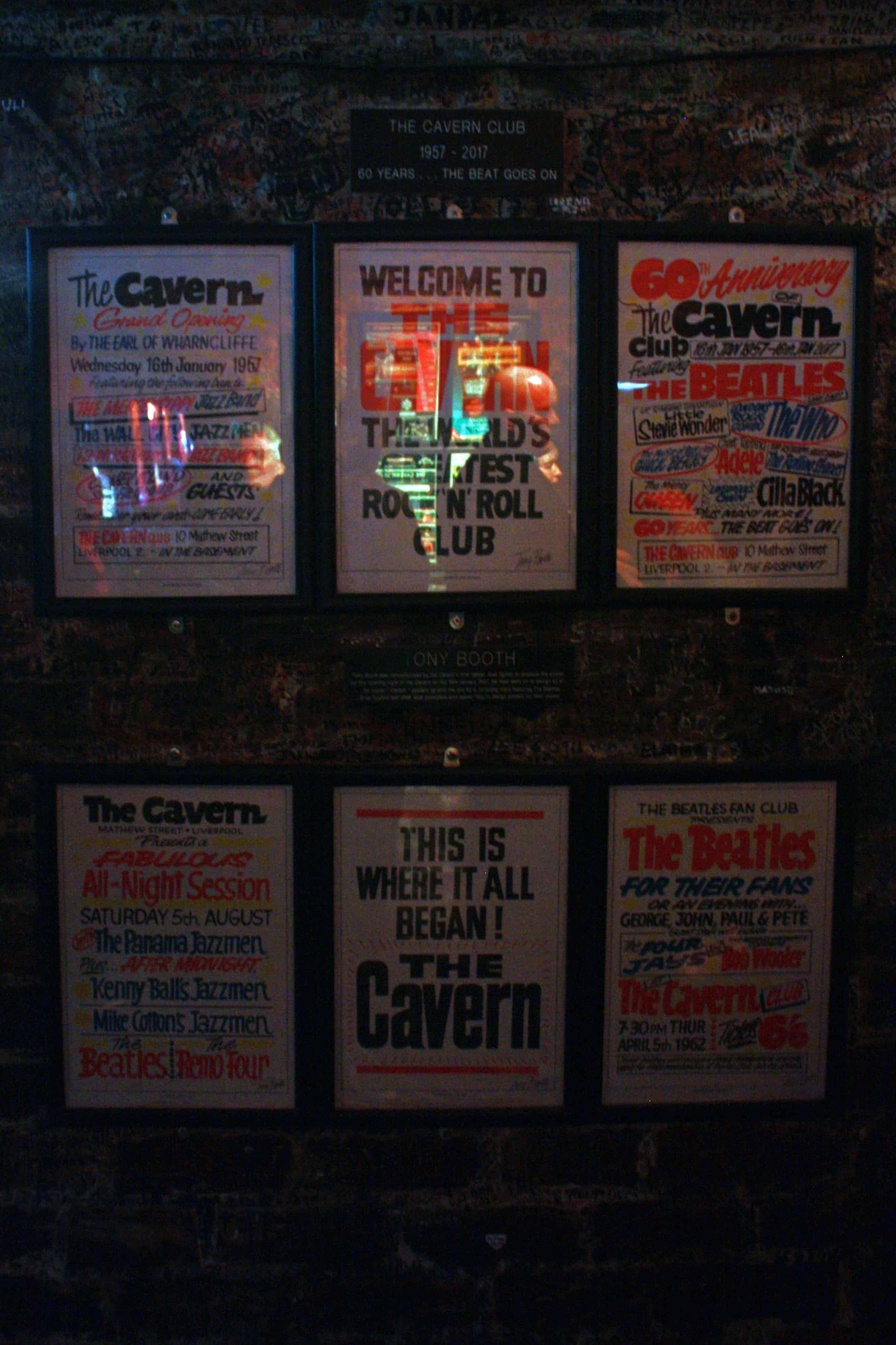 The Cavern Club posters