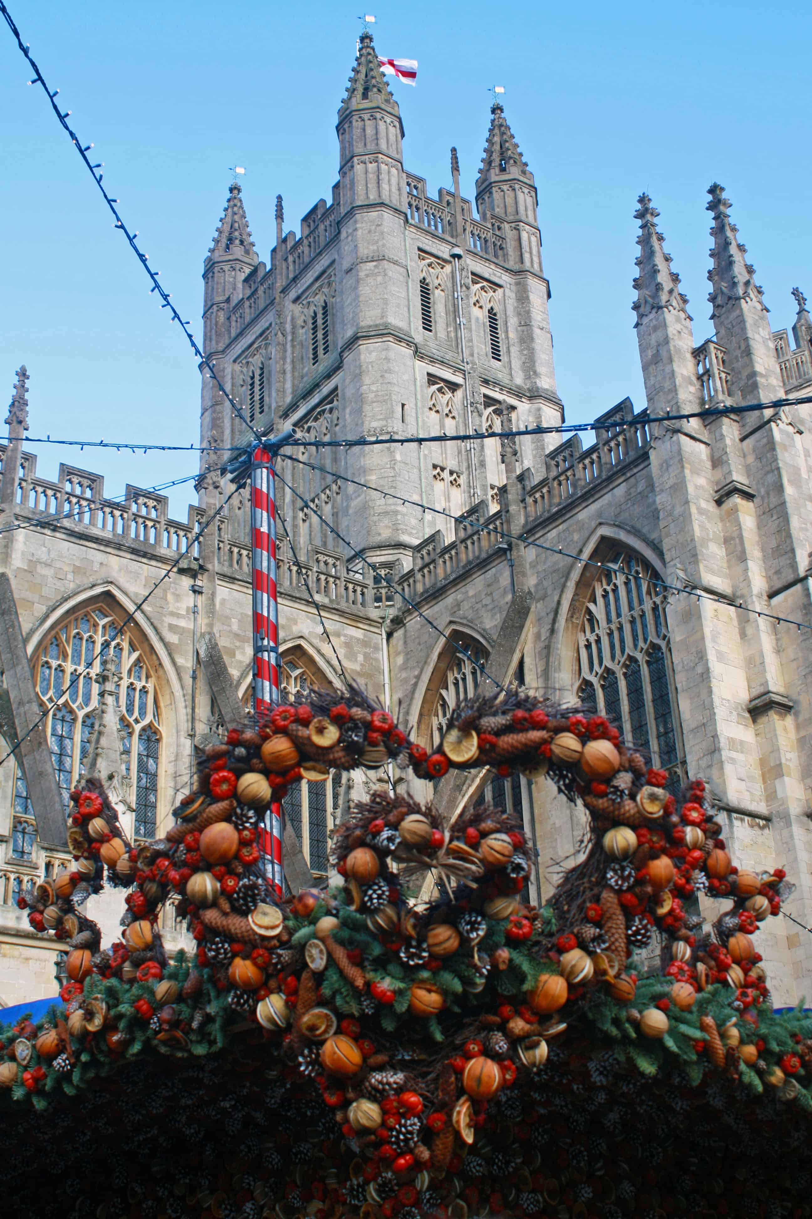 Bath Abbey, Bath Christmas Market