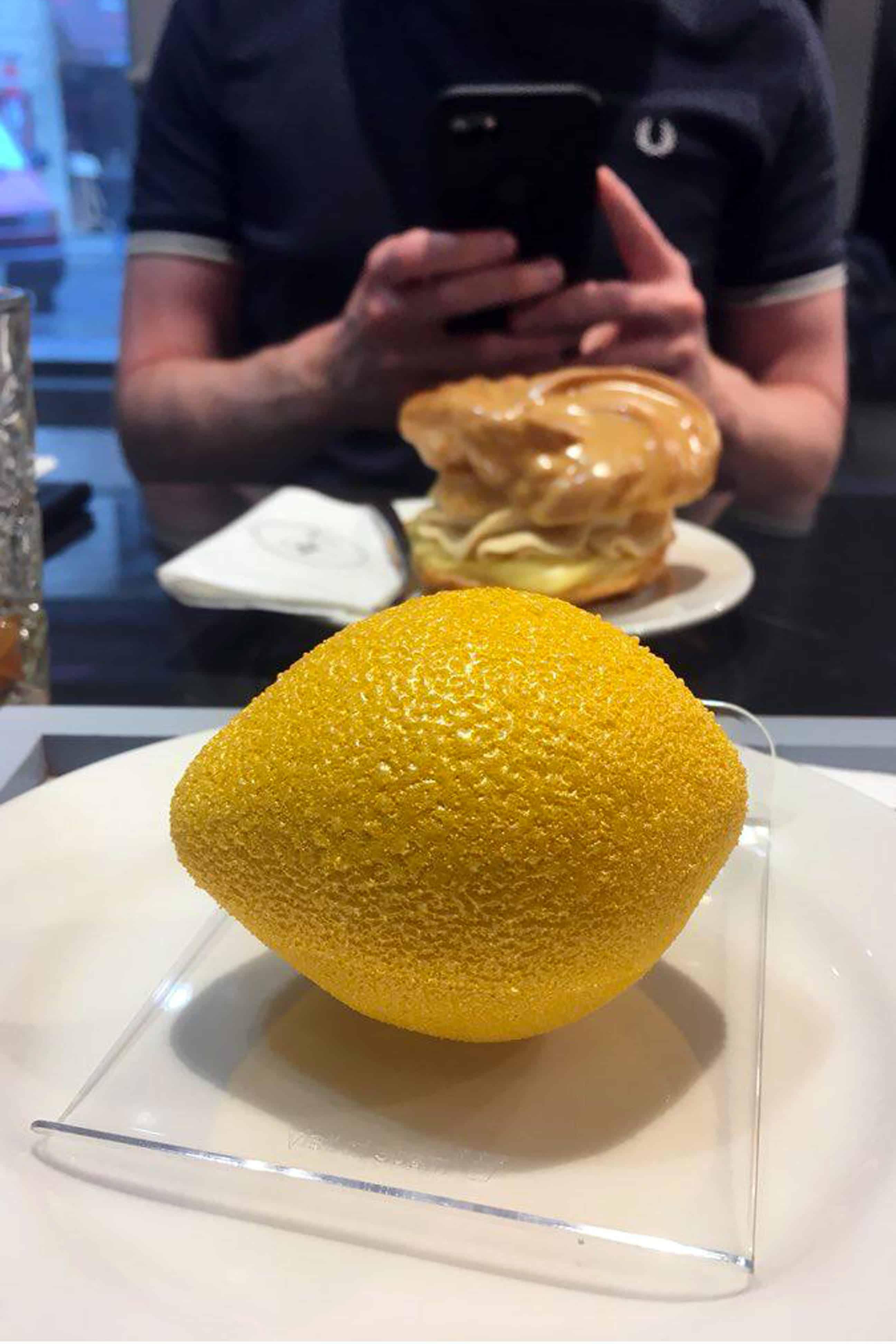 IF Café Lemon dessert