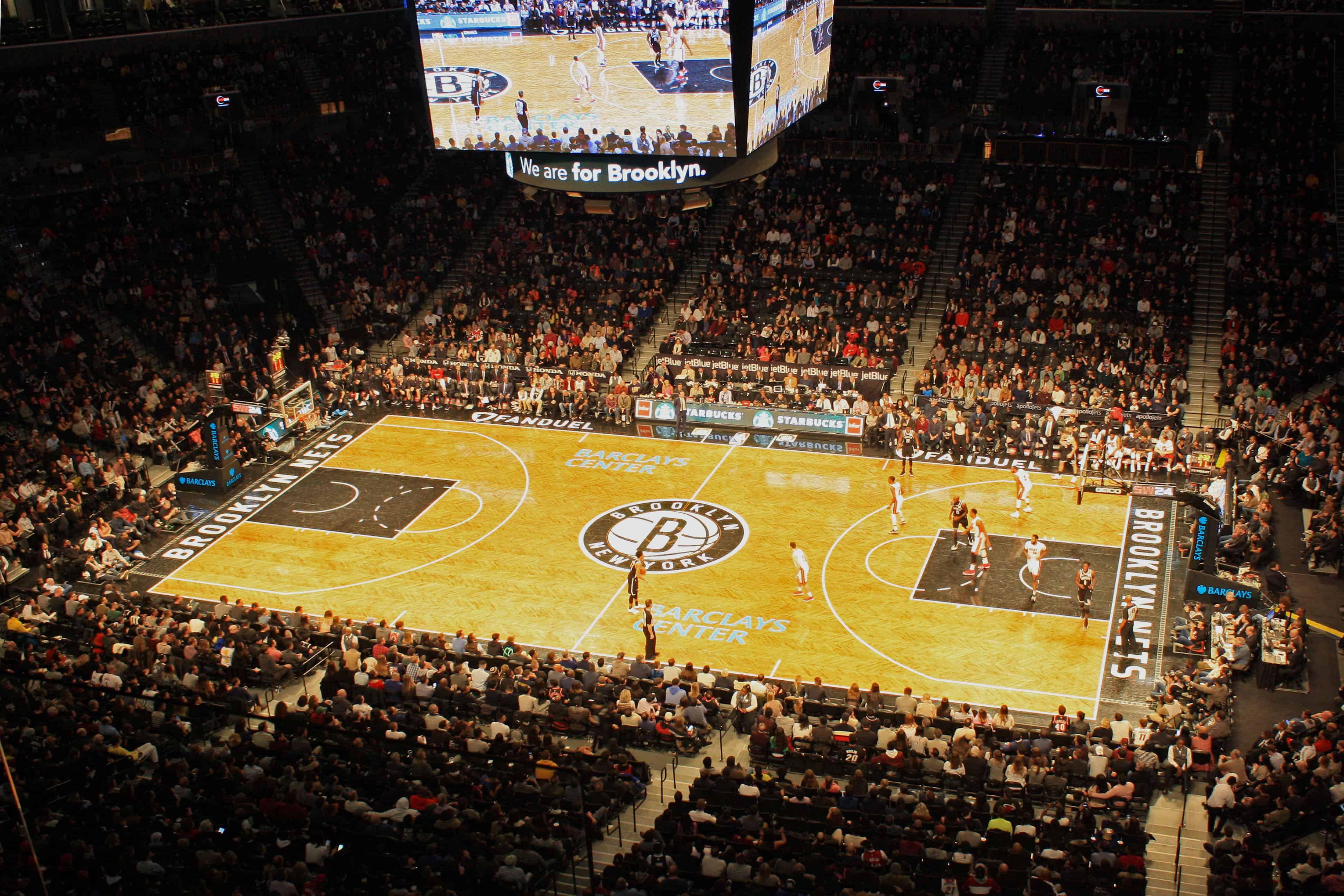 Miami Heat vs Brooklyn Nets at Barclays Centre
