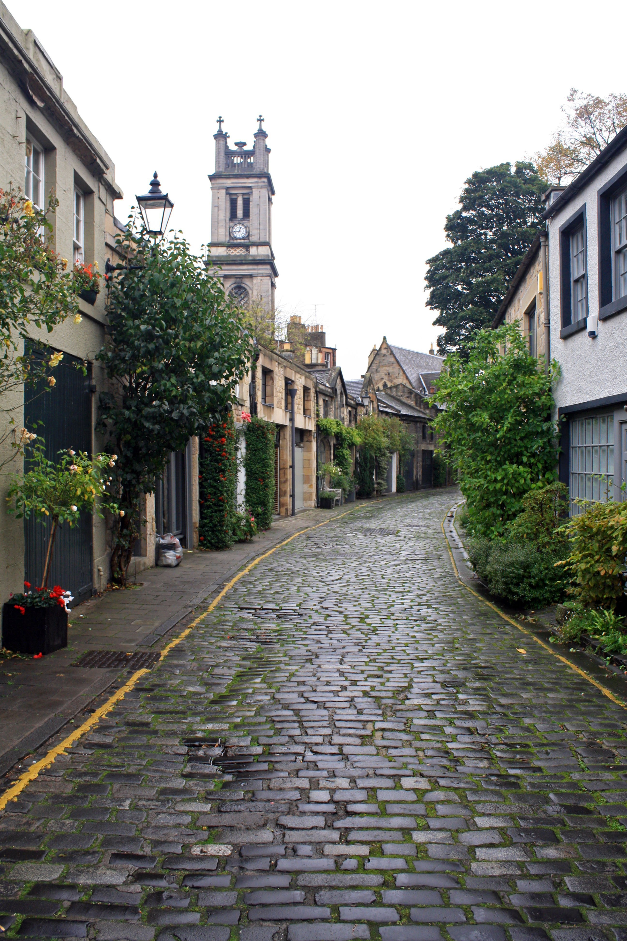 Circus Lane and Saint Stephen's Stockbridge, Edinburgh