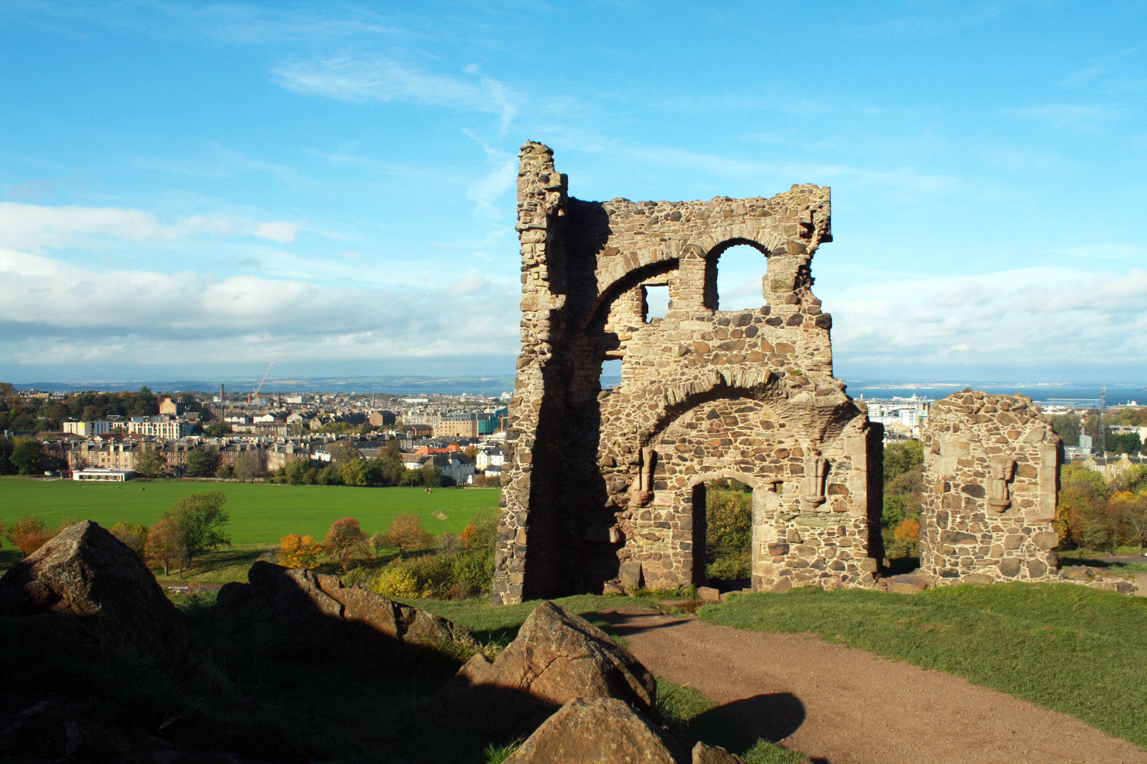 Saint Anthony's Chapel, Holyrood Park, Edinburgh