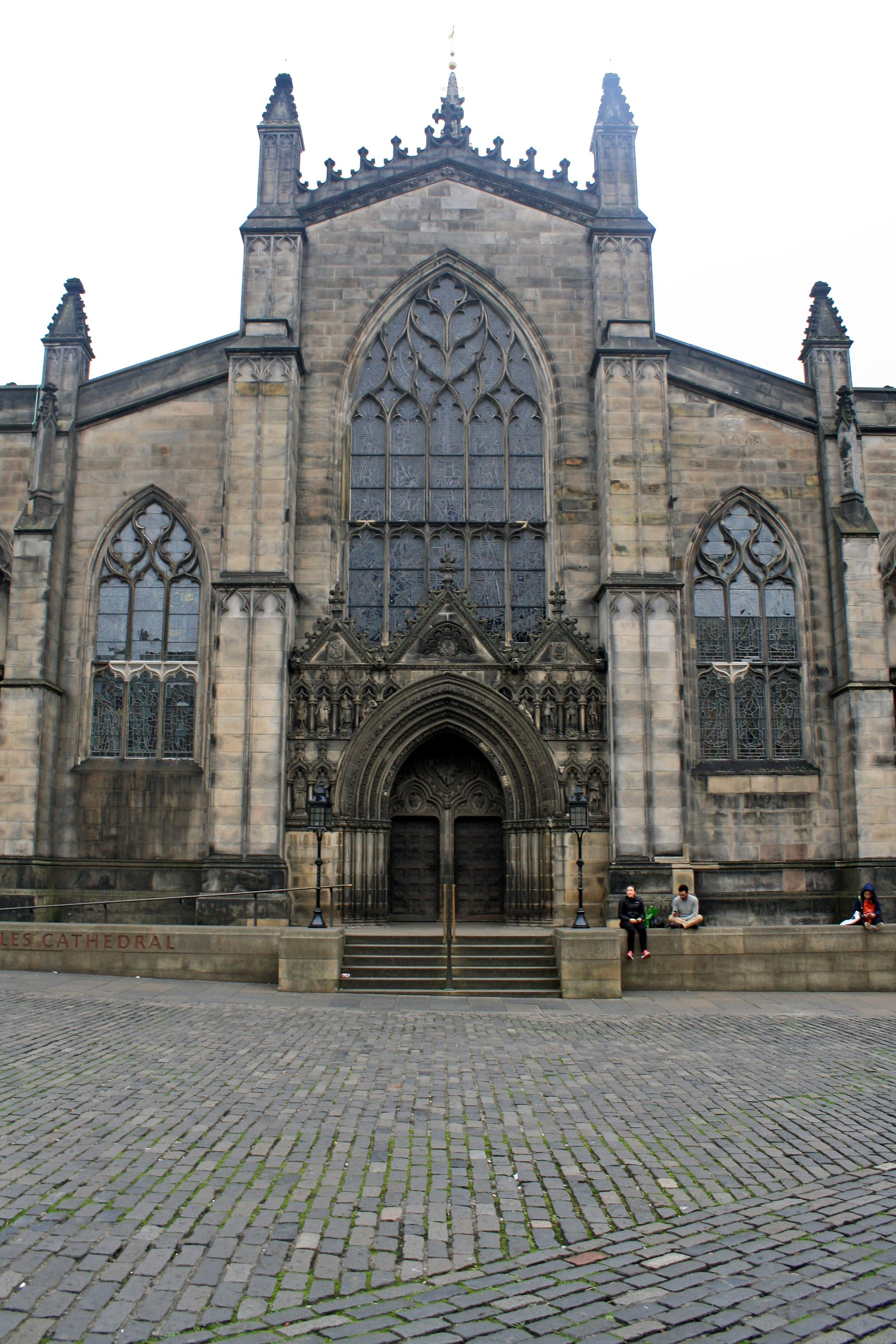 St Giles' Cathedral, Edinburgh entrance