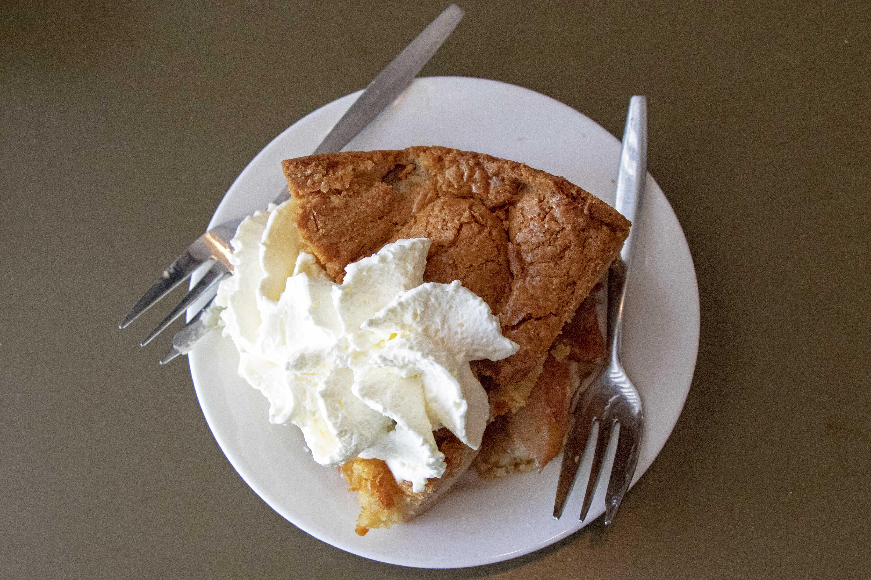 Dutch apple pie from Winkel 43