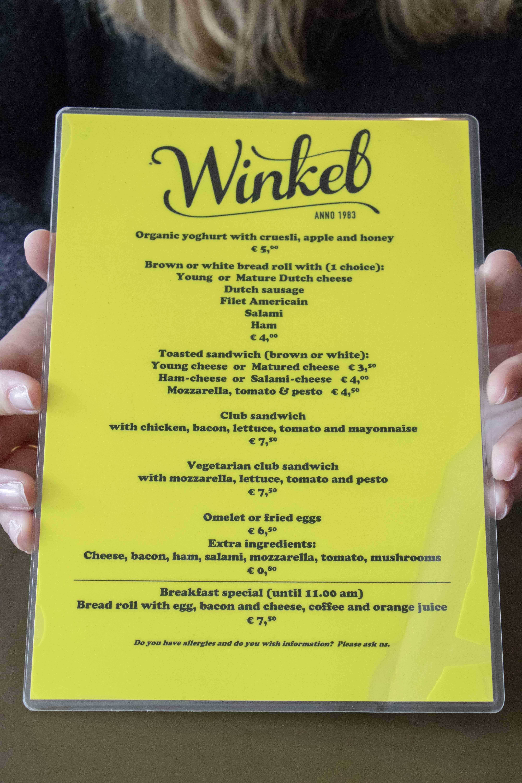 Winkel 43 menu