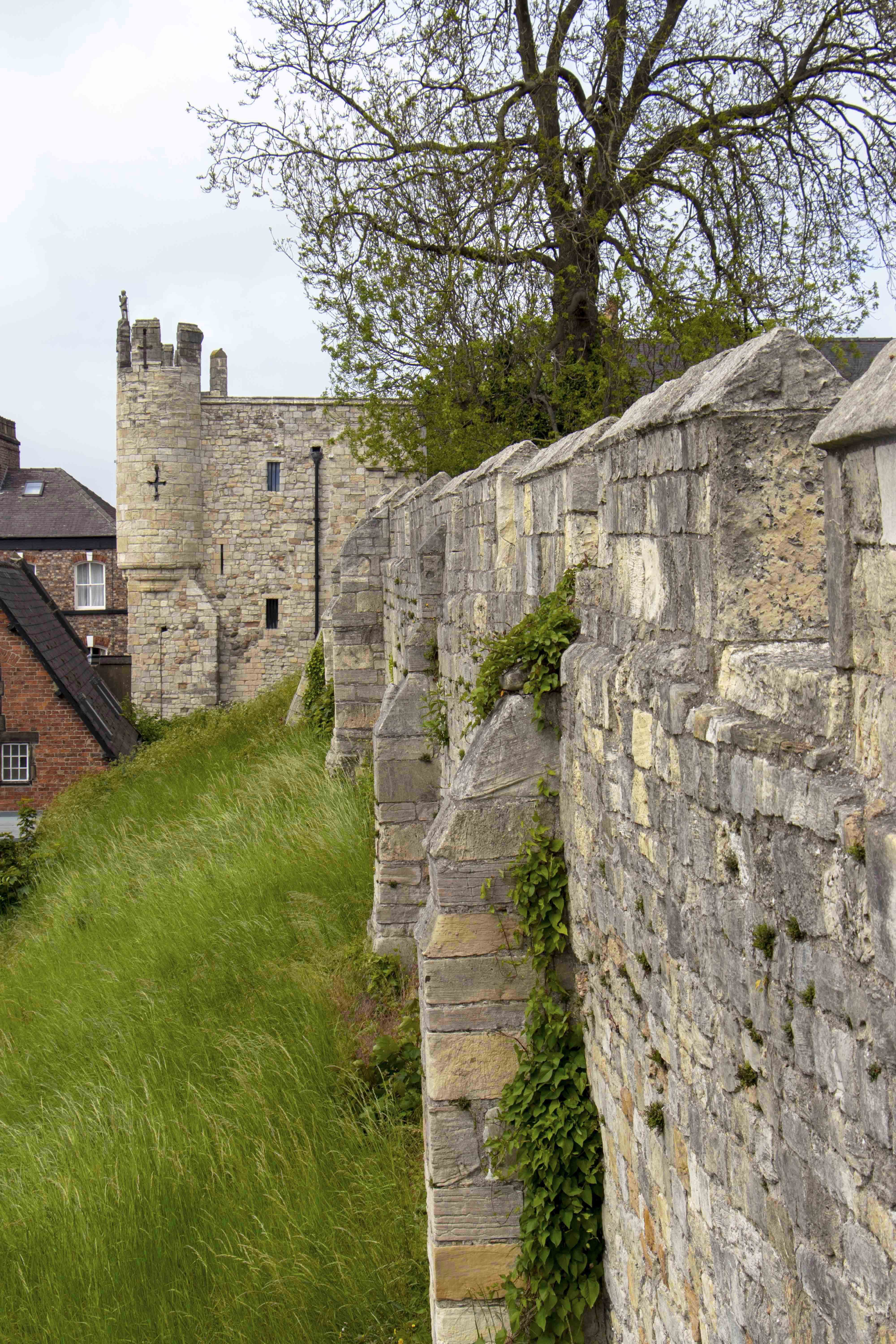 York city walls and Micklegate bar